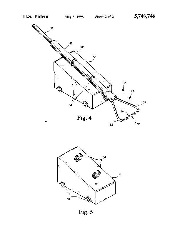 Patent Us 5746746 A