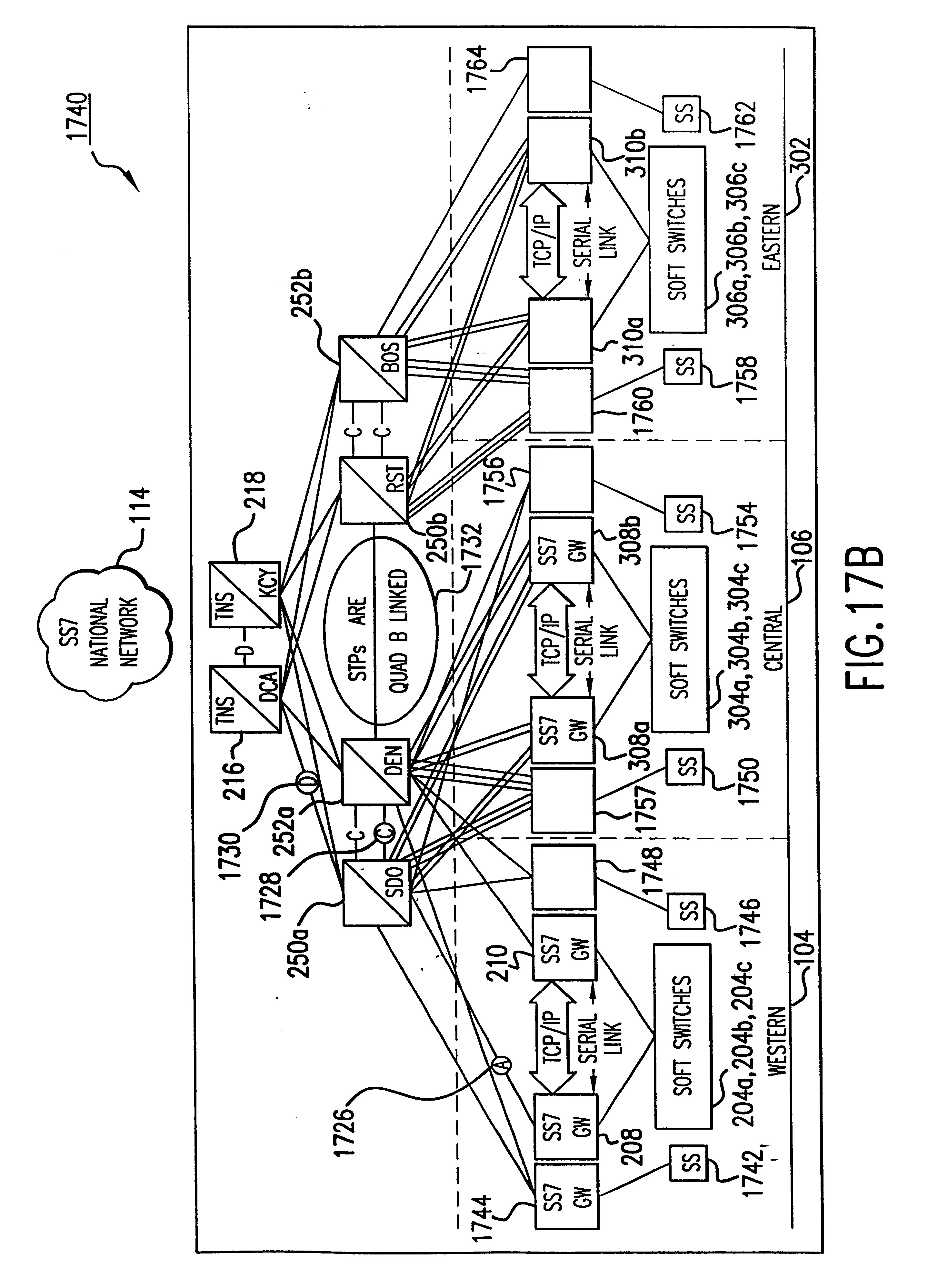 Patent Us 6614781 B1 2004 Western Star Engine Firewall Diagram Images