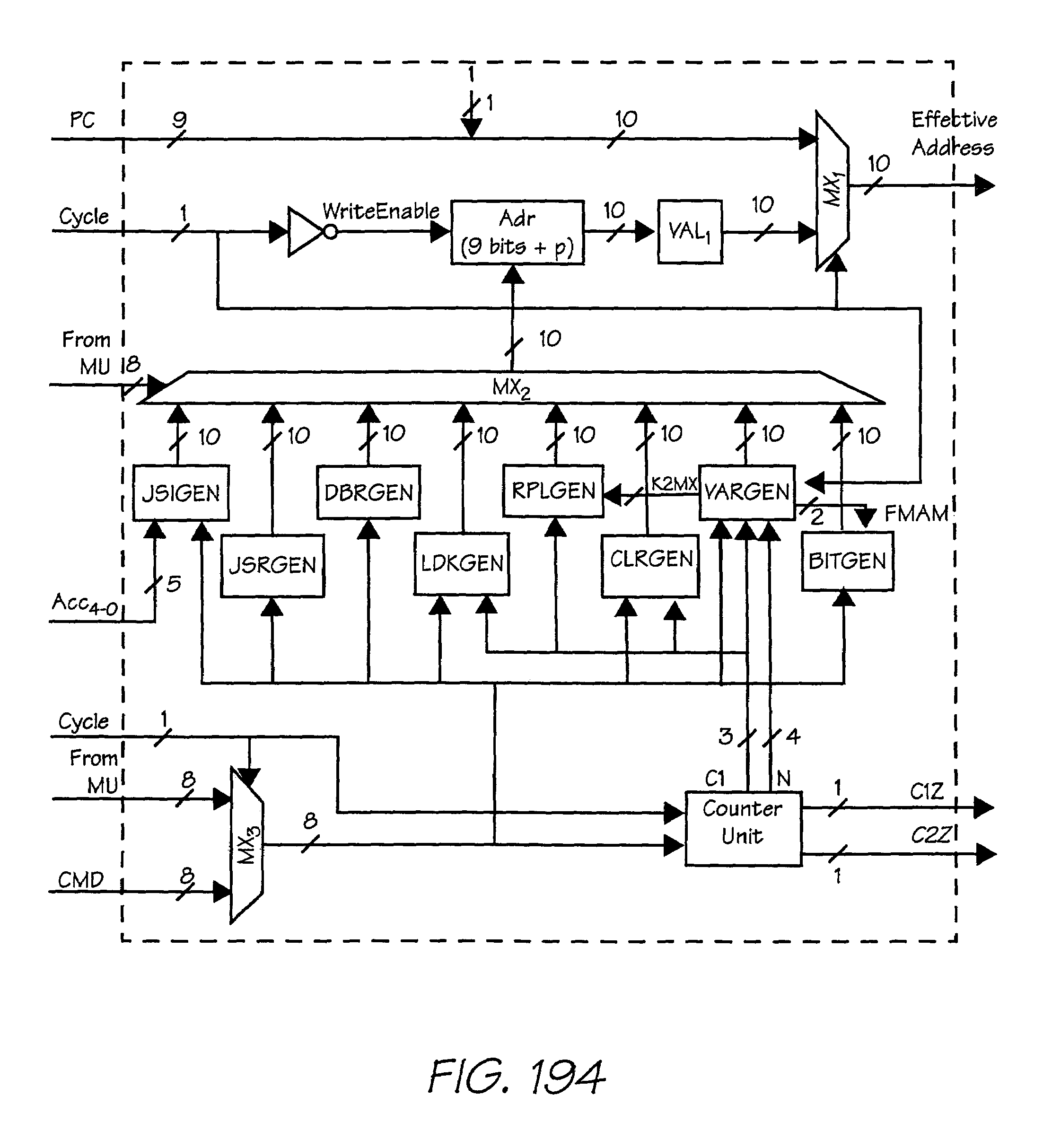 Patent Us 7193482 B2 Counter Circuit 4 Bit Carry Look Ahead Adder Lcd Display Images