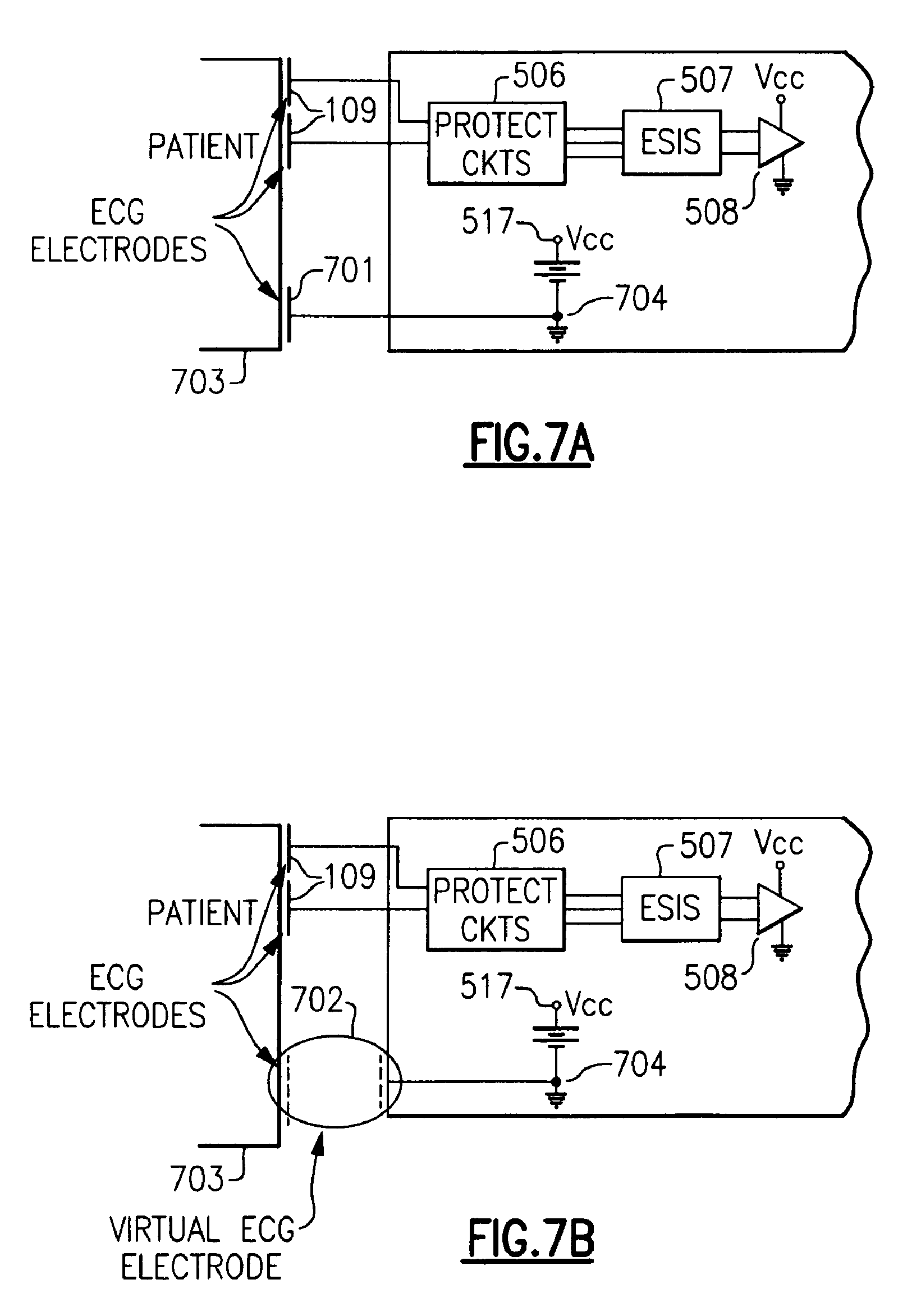 Patent Us 8965492 B2 Complete Ecg Circuit Diagram With Virtual Ground 0 Petitions