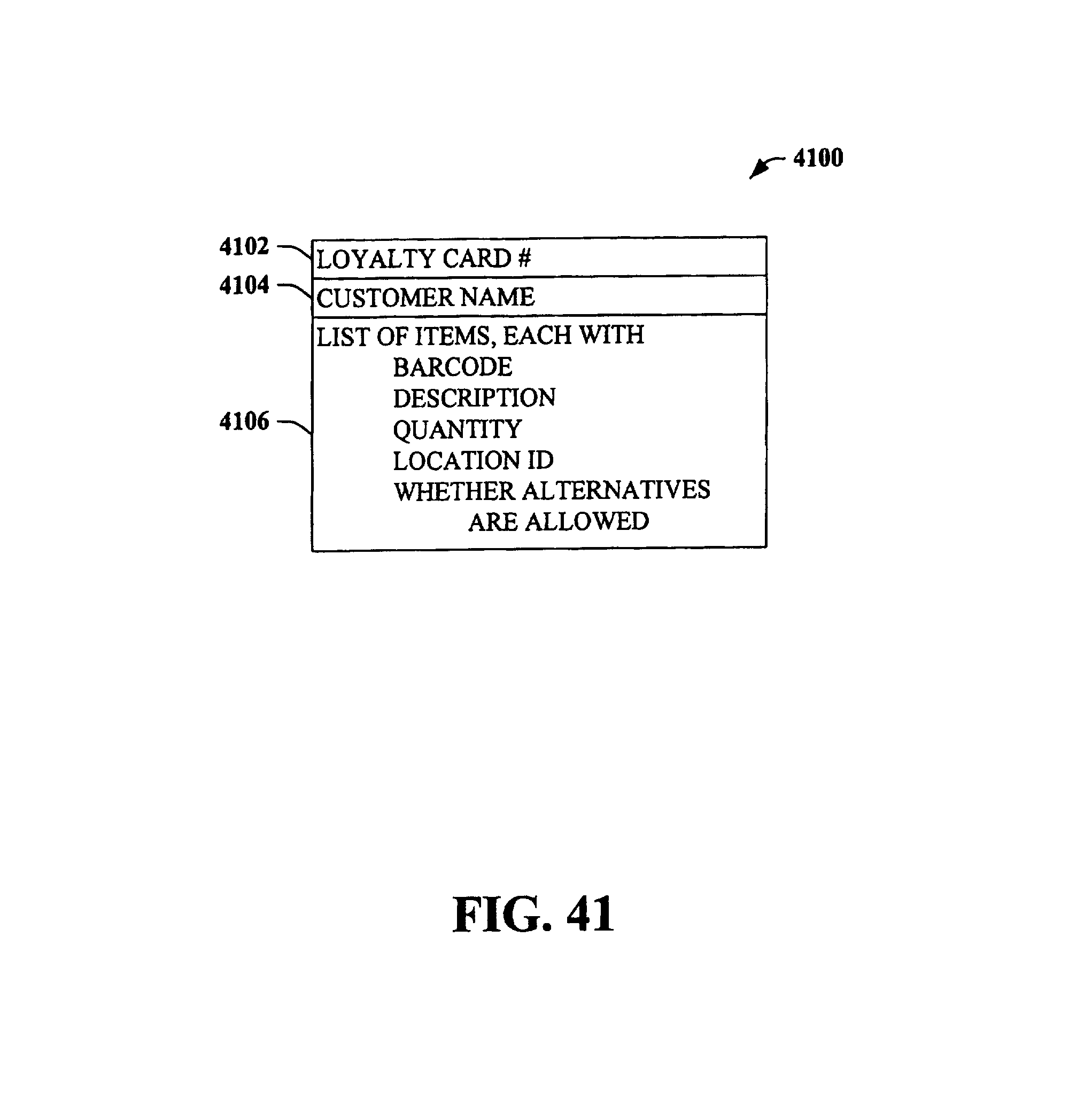 Patent US 7,010,501 B1
