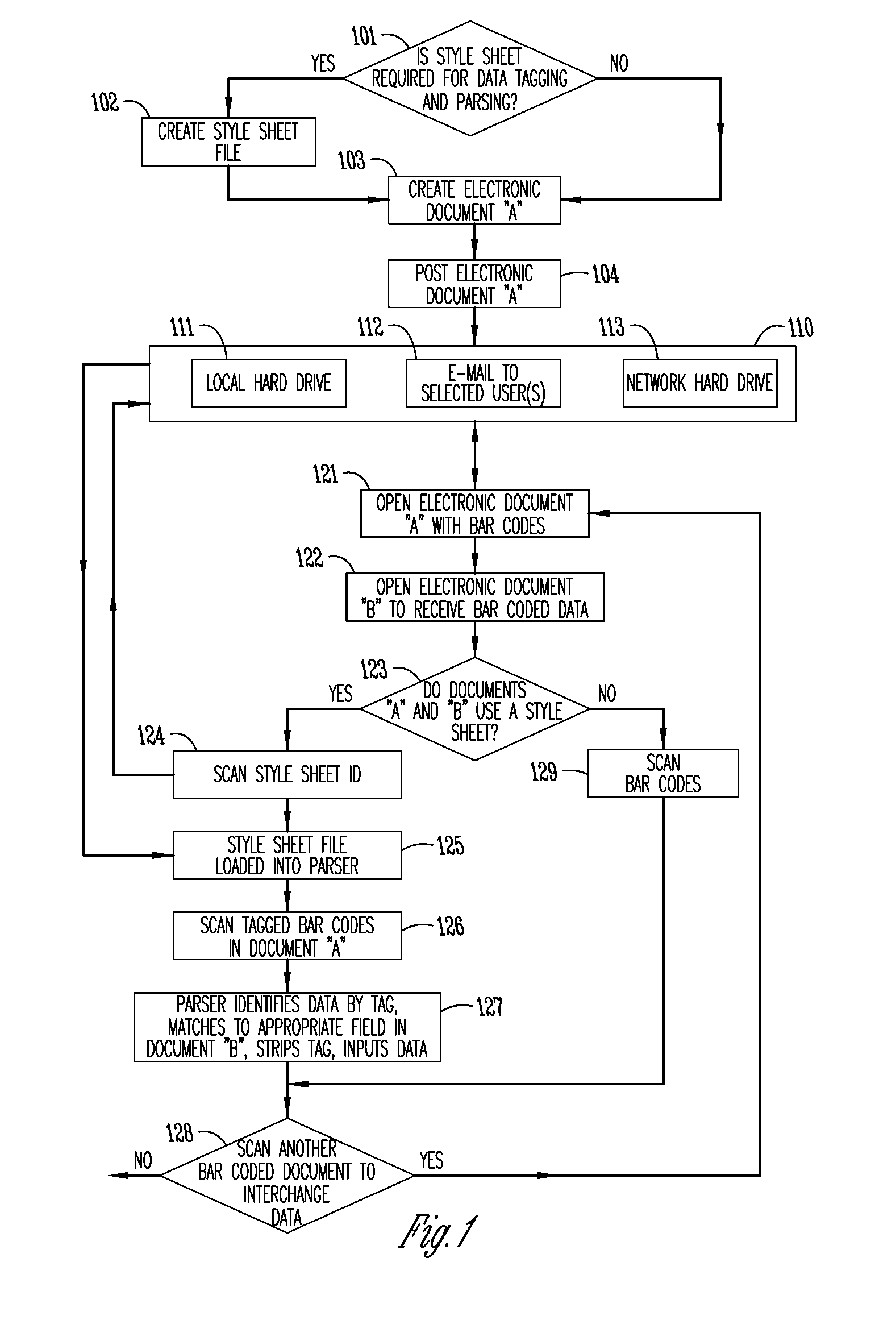 Patent US 20080017722A1