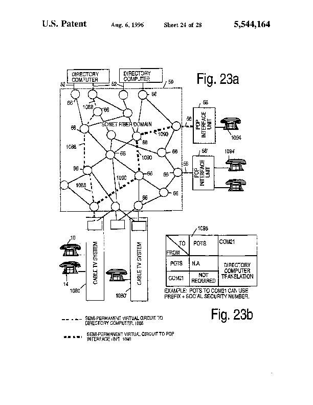 Patent Us 5544164 A