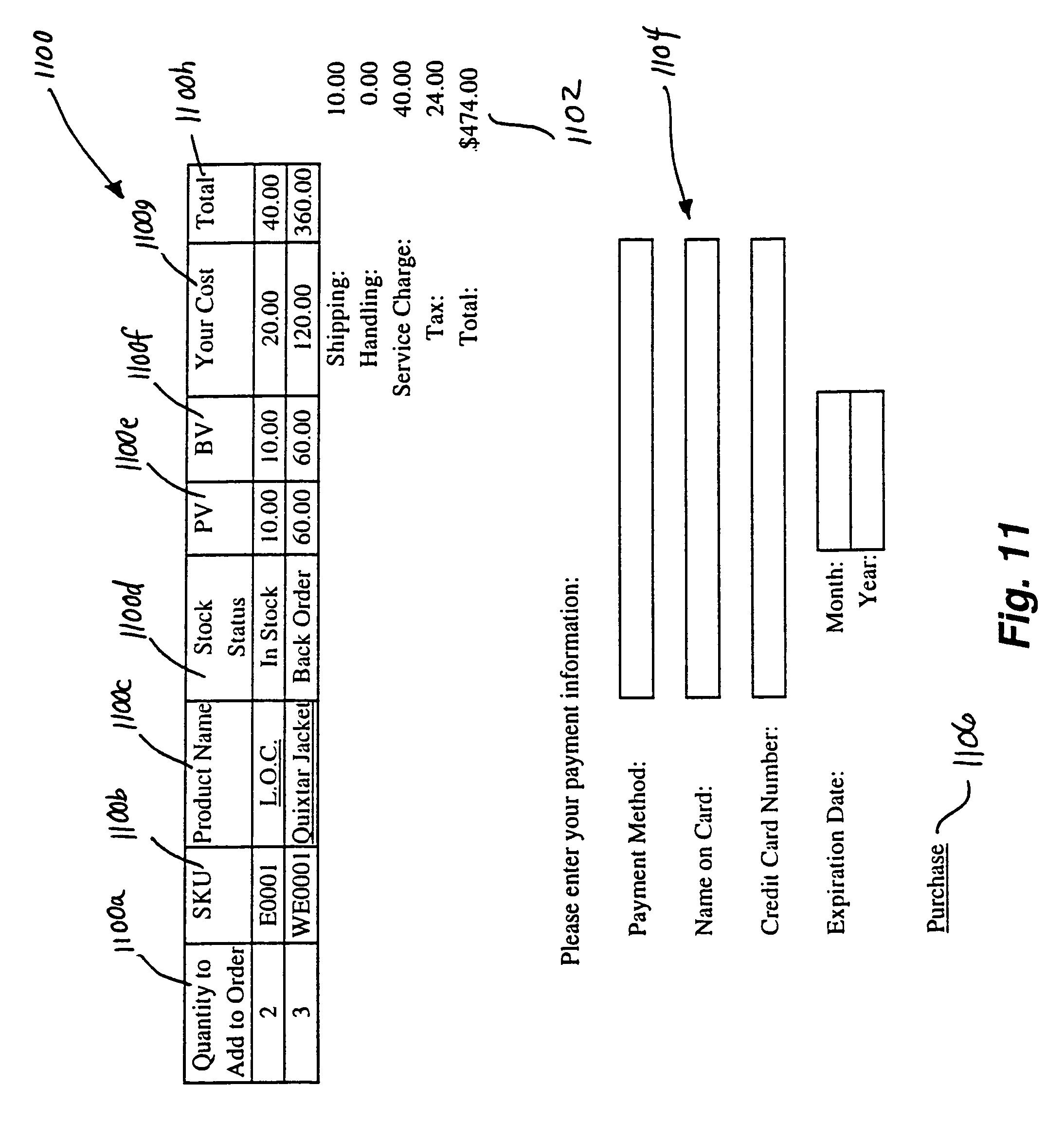 Patent US 6,980,962 B1