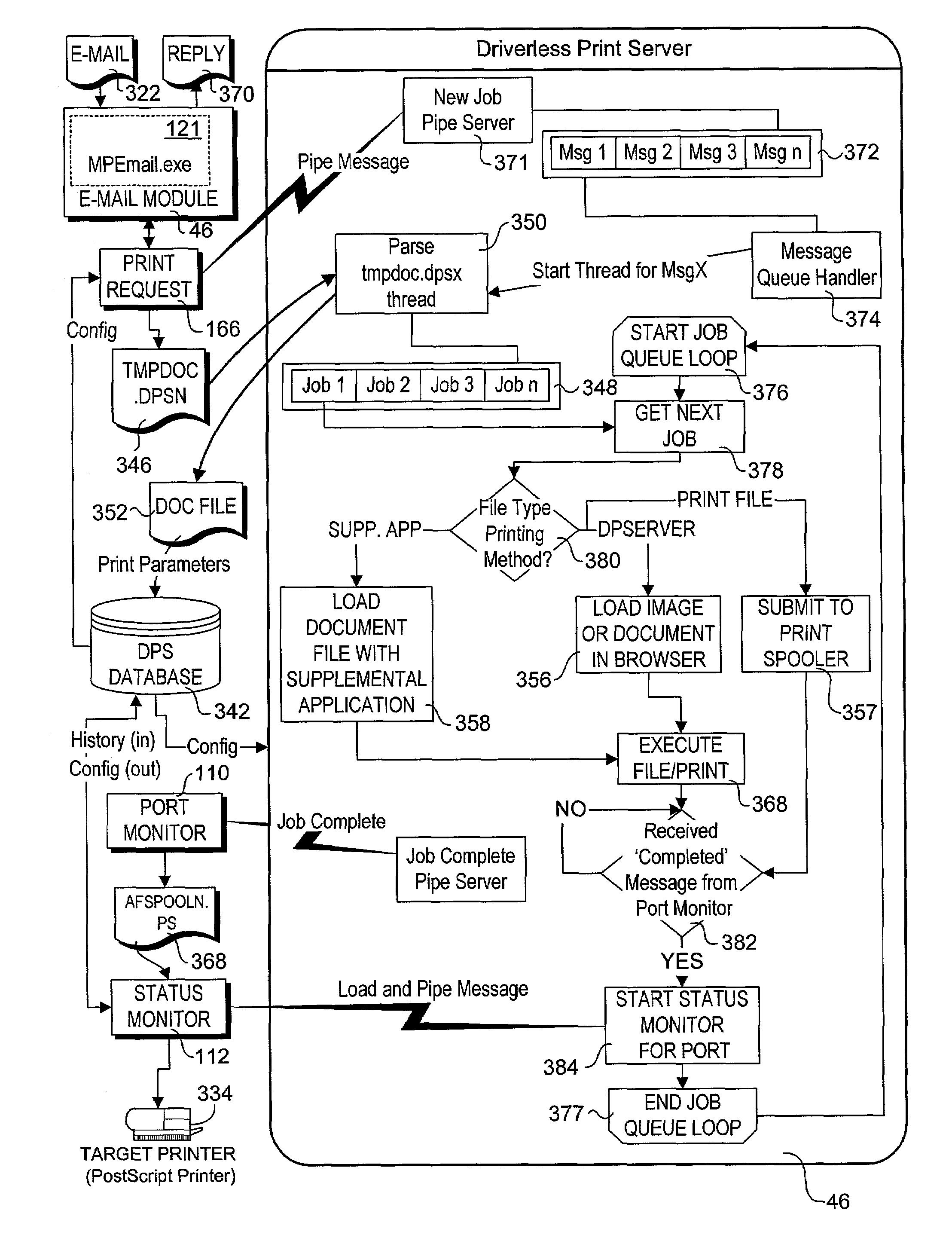 patent us 6 993 562 b2 Simple Logic Diagram first claim