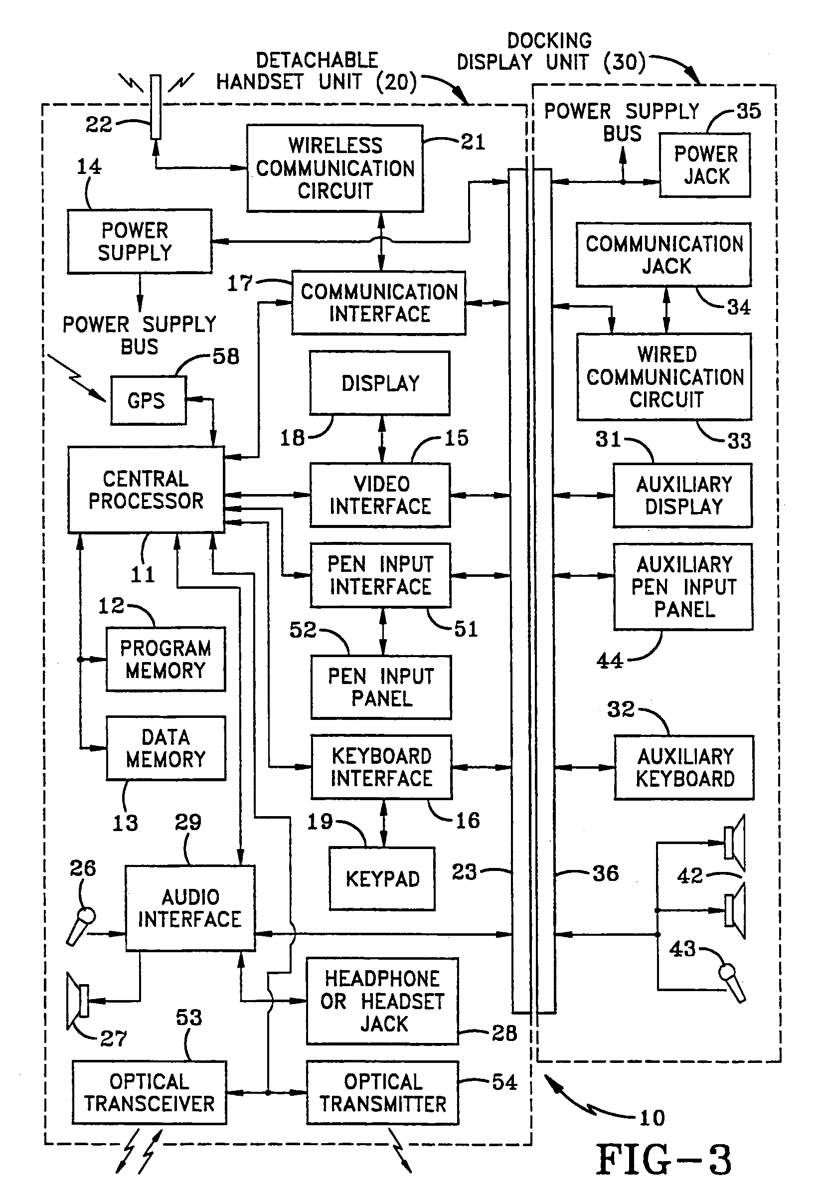 Patent Us 7120462 B2 Circuit Gpsreceiver Communicationcircuit Diagram Images