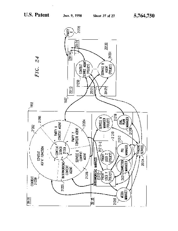 Patent Us 5764750 A