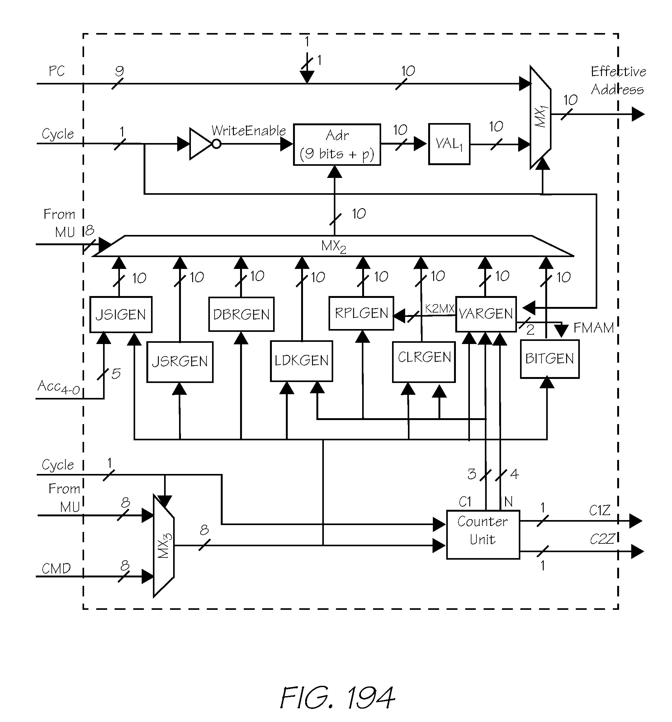 Patent Us 9185246 B2 Counter Circuit 4 Bit Carry Look Ahead Adder Lcd Display Images