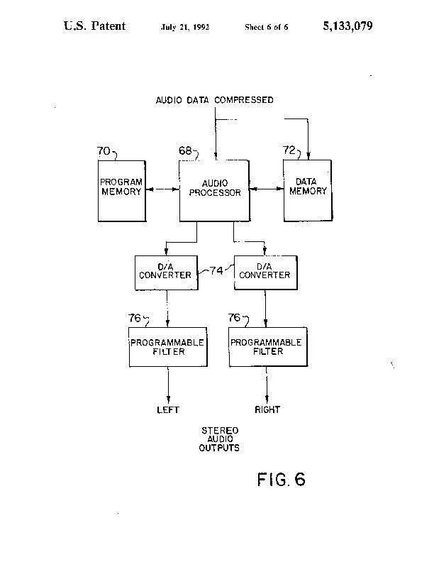 Patent US 5,133,079 A