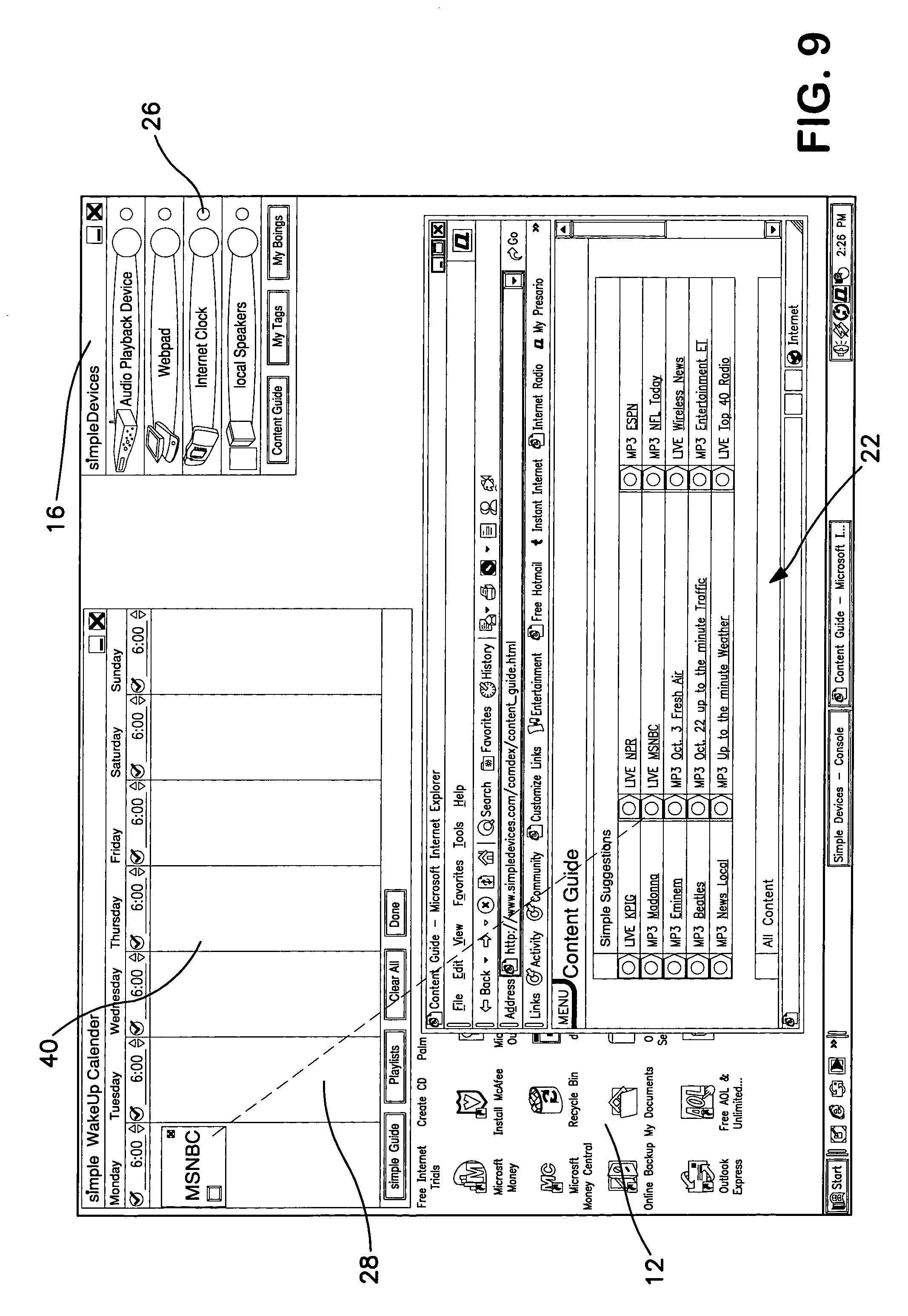 Patent Us 7130616 B2 Diagram Likewise Cable Modem Router Also At T Wireless U Verse