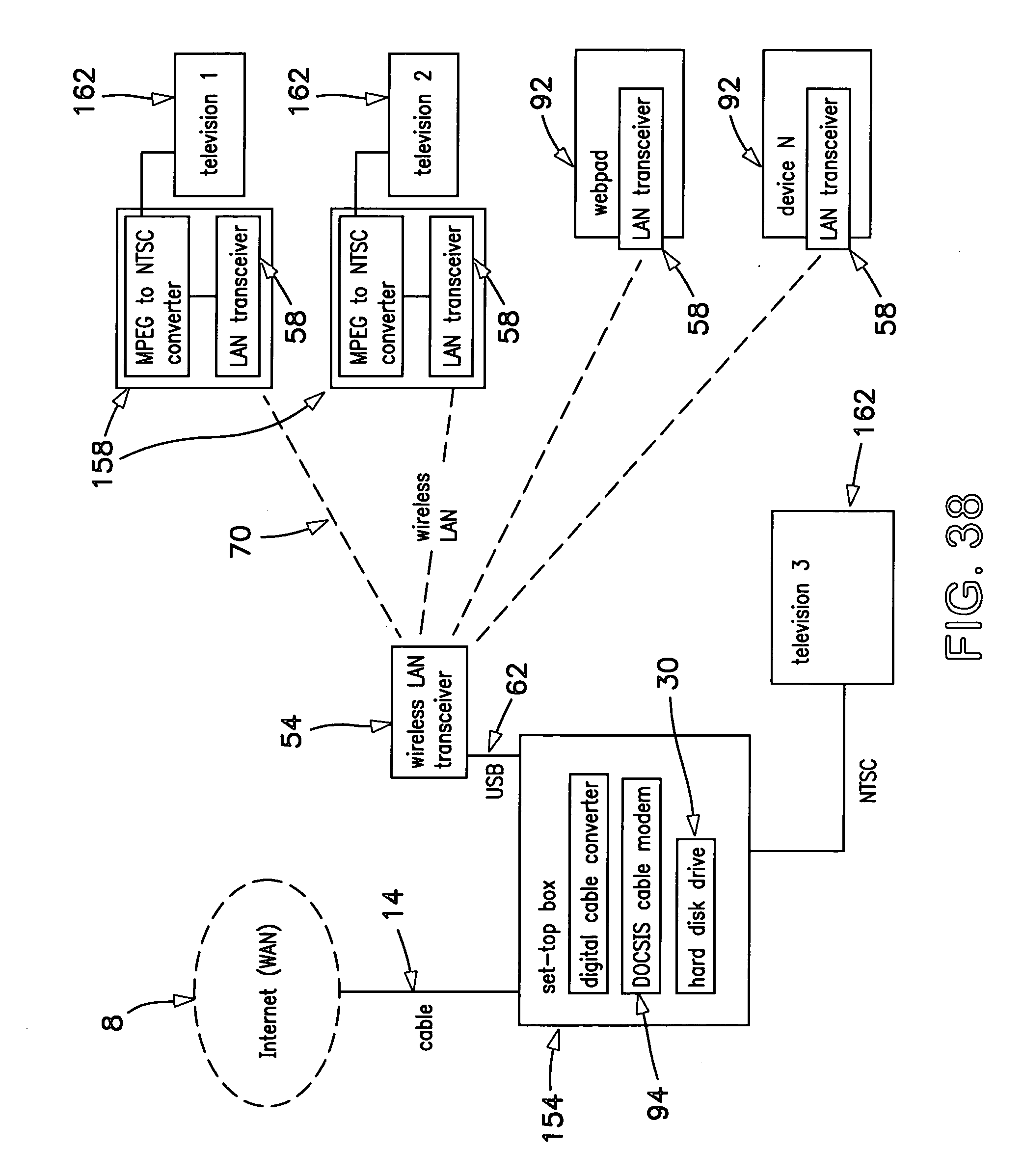 Patent Us 7130616 B2 Diagram Likewise Cable Modem Router Also At T Wireless U Verse Litigations