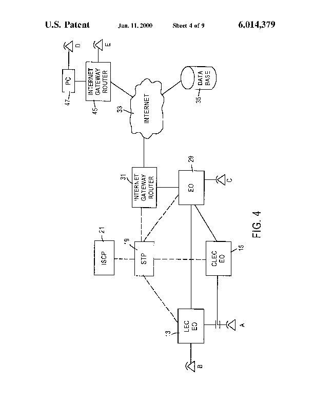 Patent Us 6014379 A