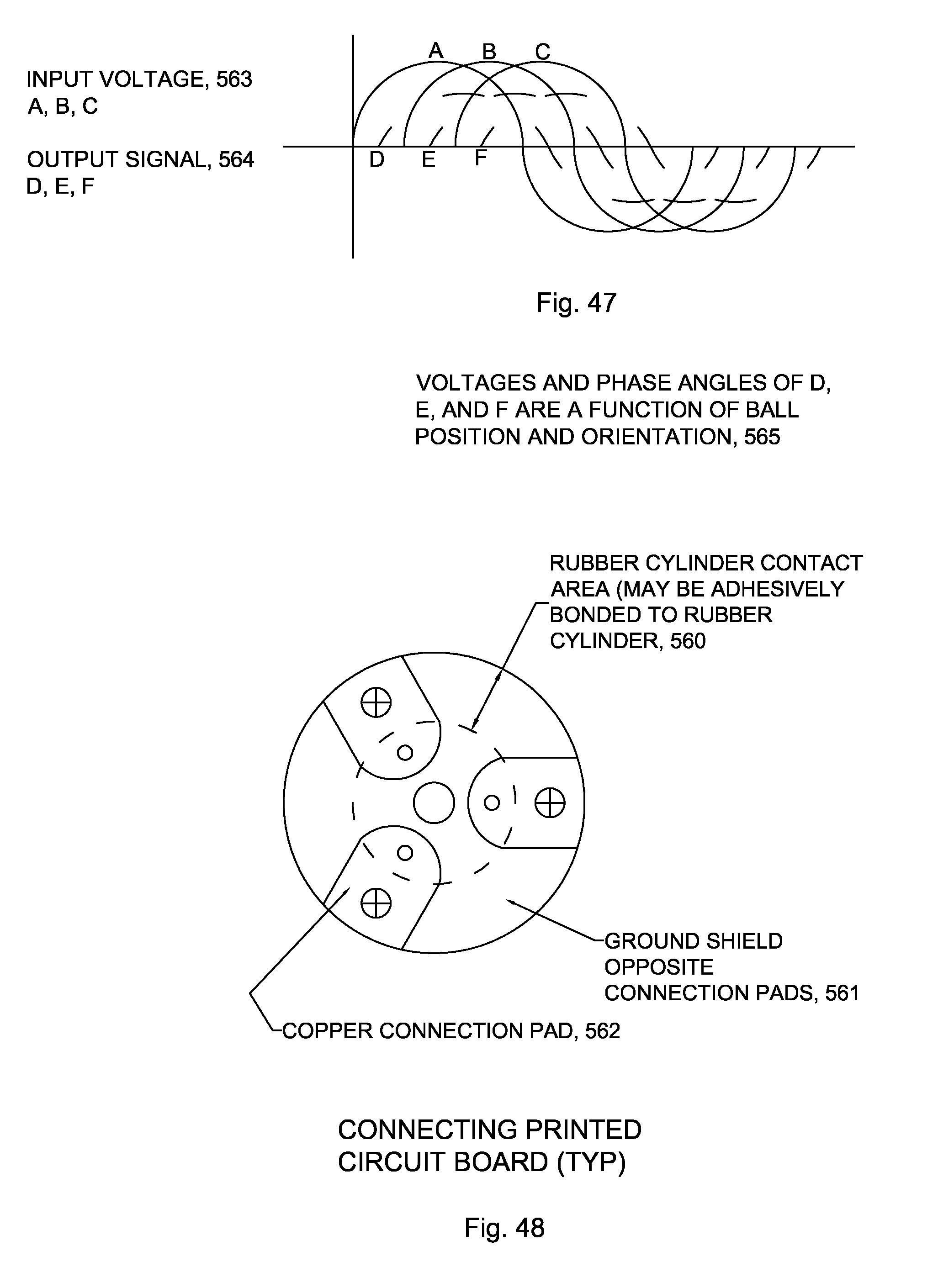 Patent Us 8094121 B2 Lvdt Wiring Polarity Designation Diagram Images