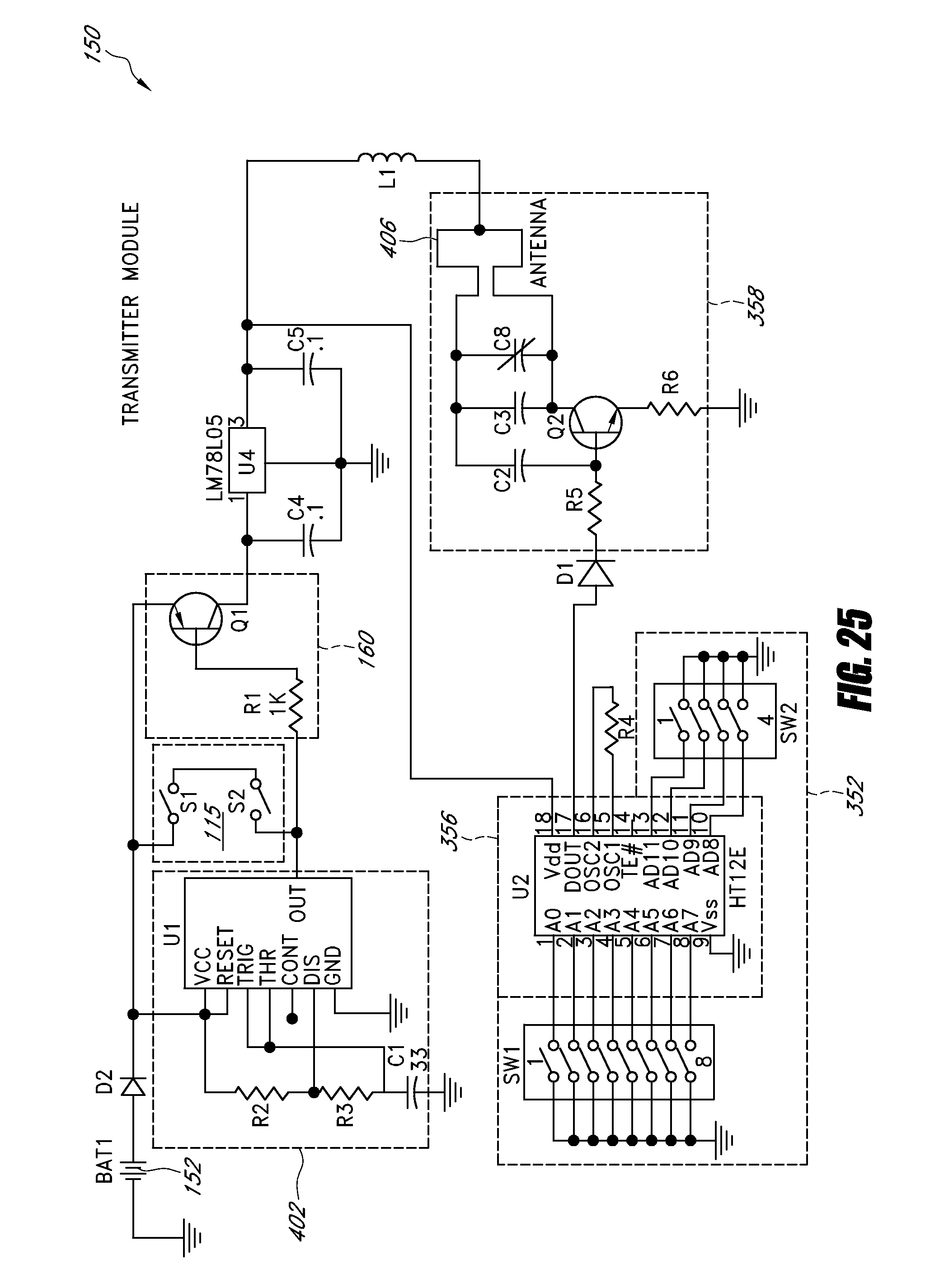 Circuit 40khz Ultrasound Receiver Circuit Designed By David Johnson P