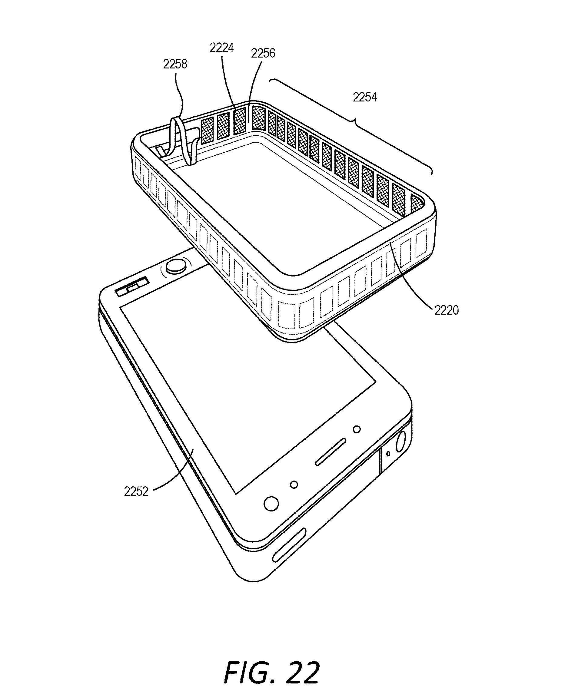 Patent Us 9876536 B1 Engine Wiring Harness Generator 105a Compact Laminated Contacts Spring Images
