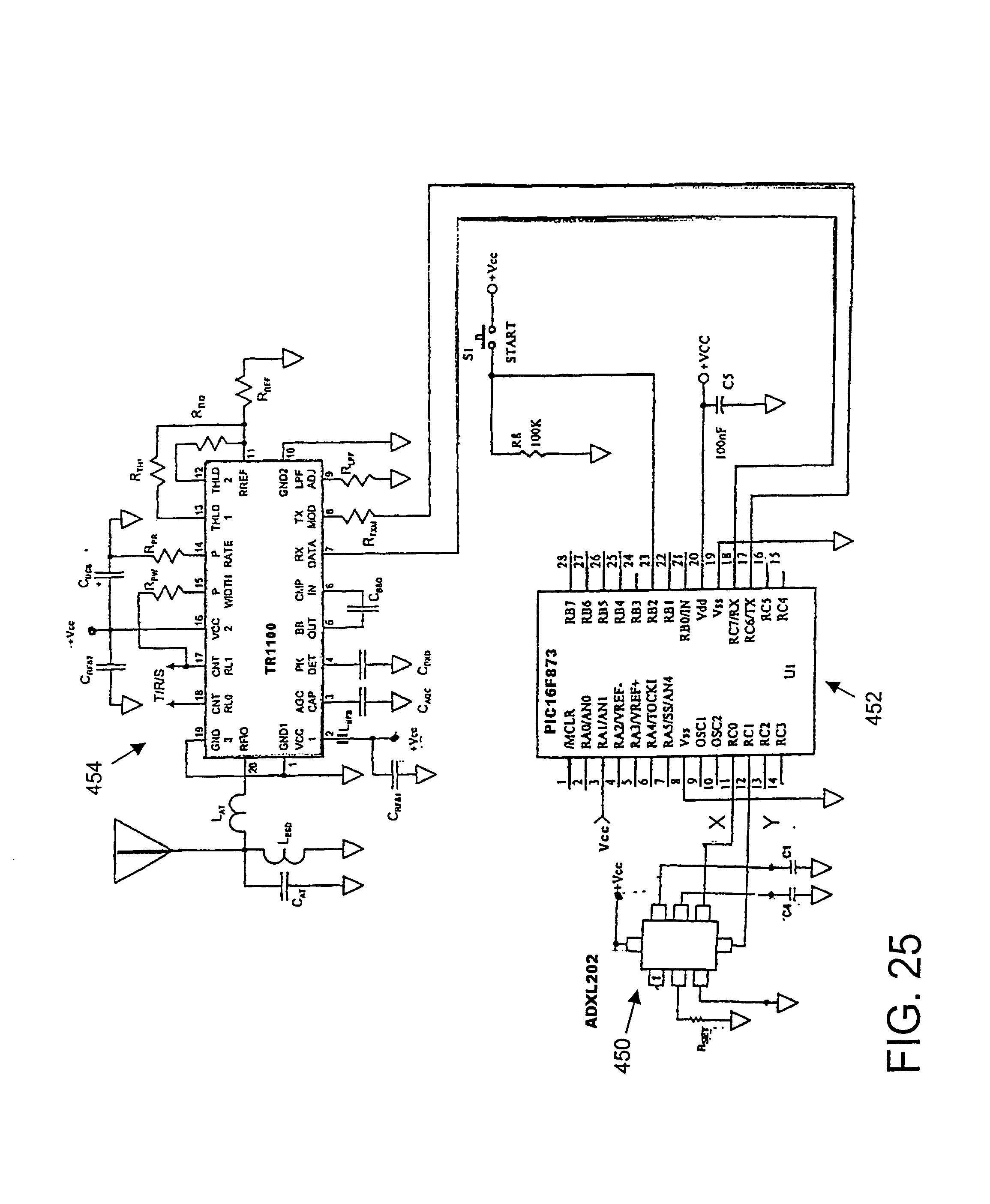 Patent Us 7113091 B2 Make A Simple Ic 741 Smoke Detector Circuit Schematic Diagram Images