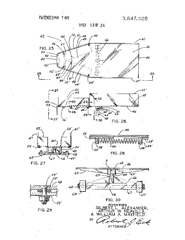 Patent Us 3647026 A