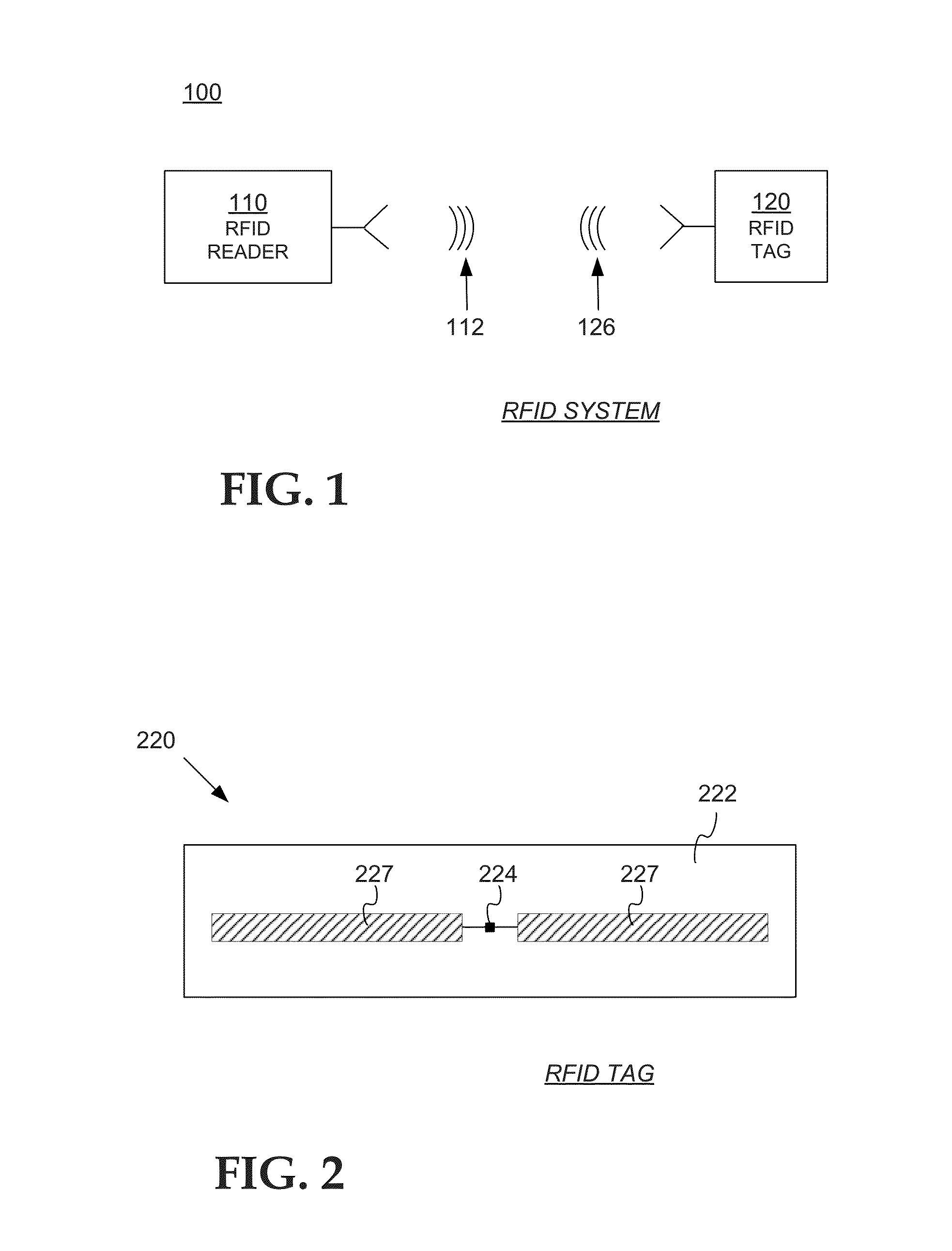Patent Us 9129168 B1 Rf Id Full Duplex Tag Block Diagram Images