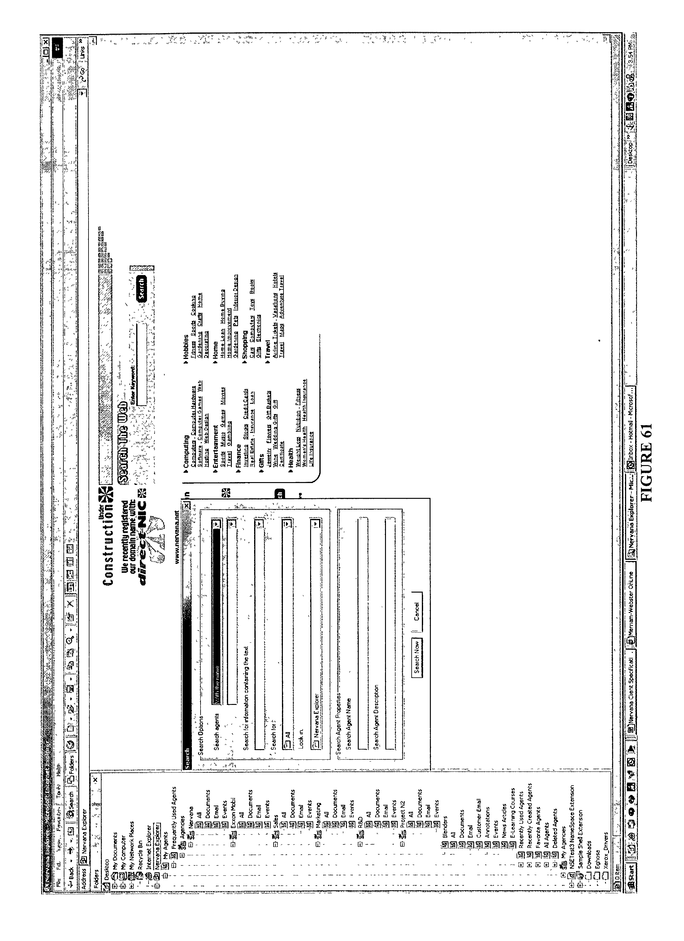 Patent US 20030126136A1 on