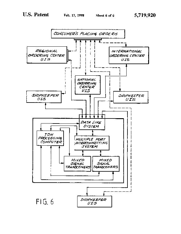 Patent Us 5719920 A