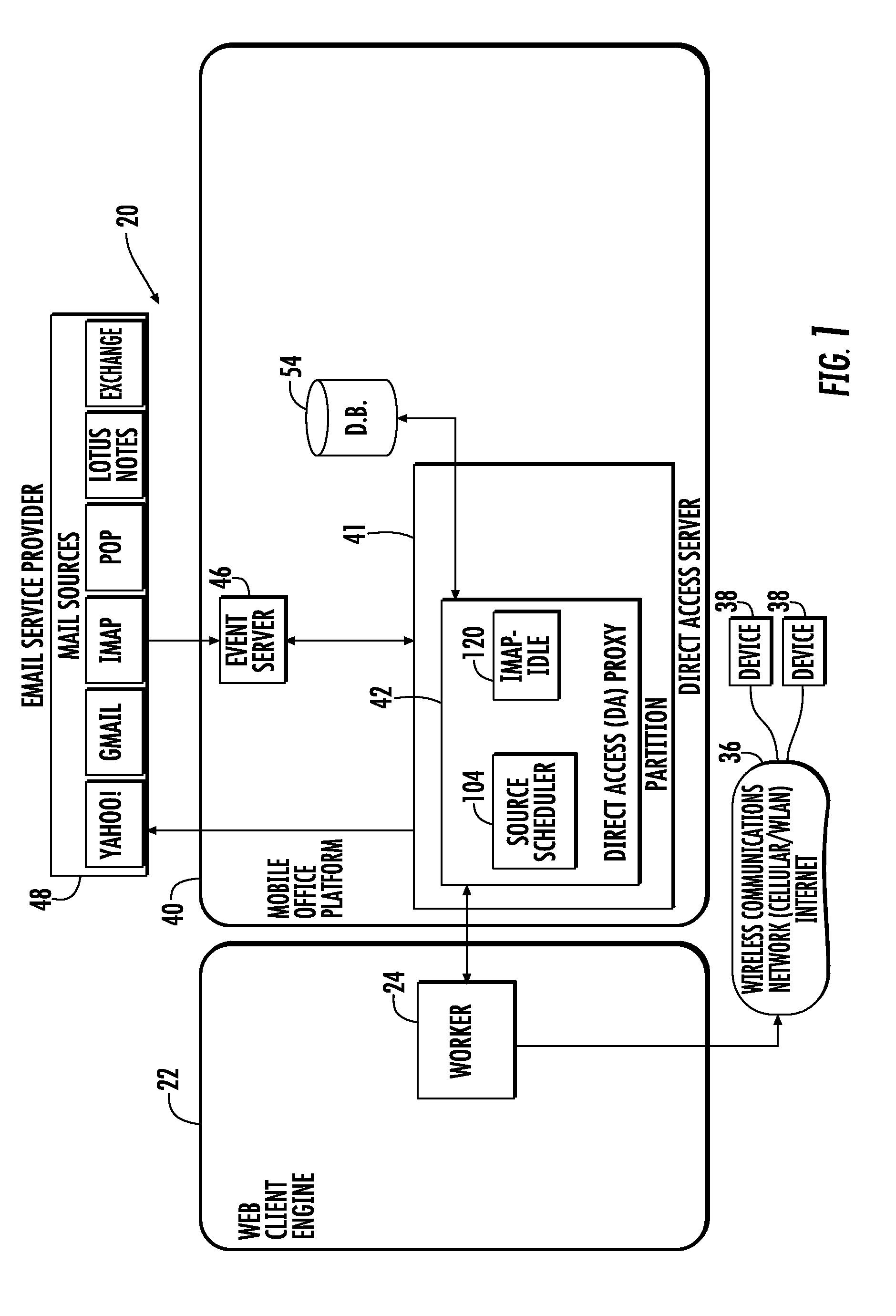 Patent US 20100250681A1