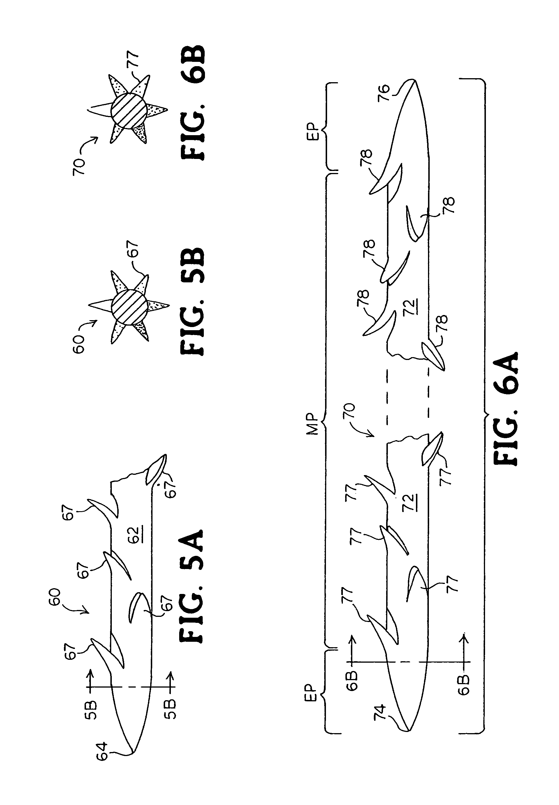 Patent Us 8795332 B2 Begin By Making A Slip Knot In The Binder Yarn Diagrams 1 2 And 3