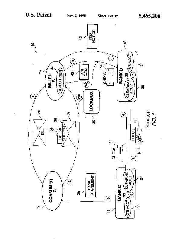 Patent Us 5465206 A