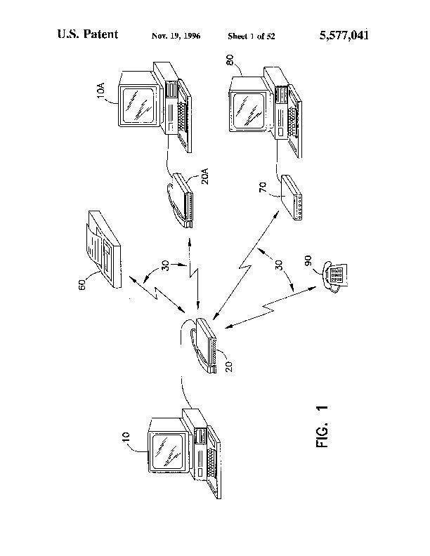 Patent Us 5577041 A