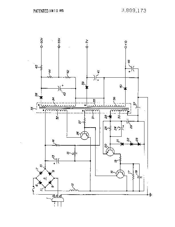 flyback transformer schematic