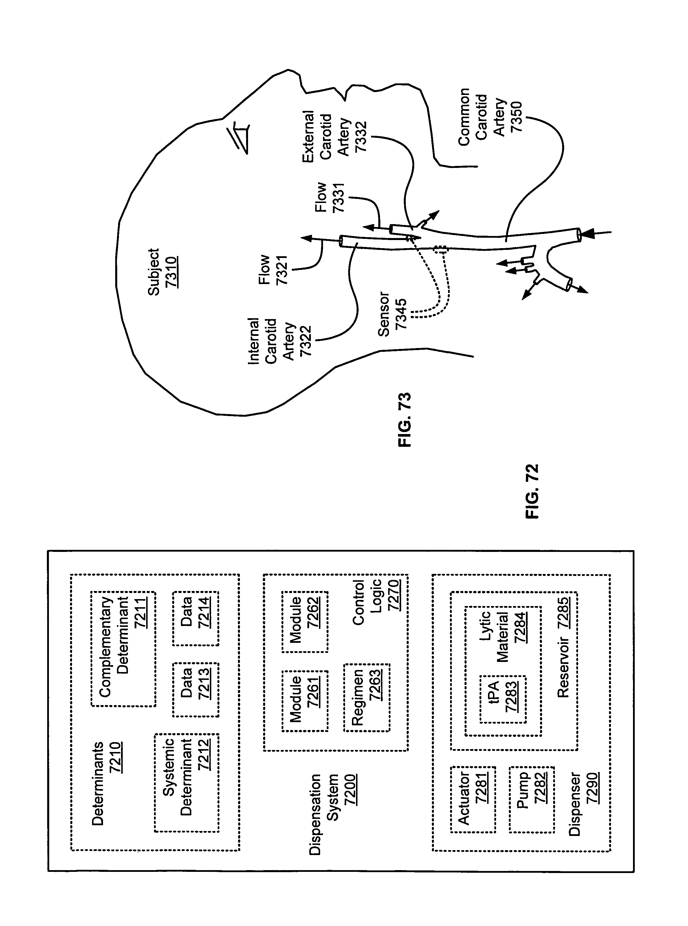 Patent Us 8870813 B2 Water Alarm Circuit Diagram Further Pop Up Drain Emitter On Common Images