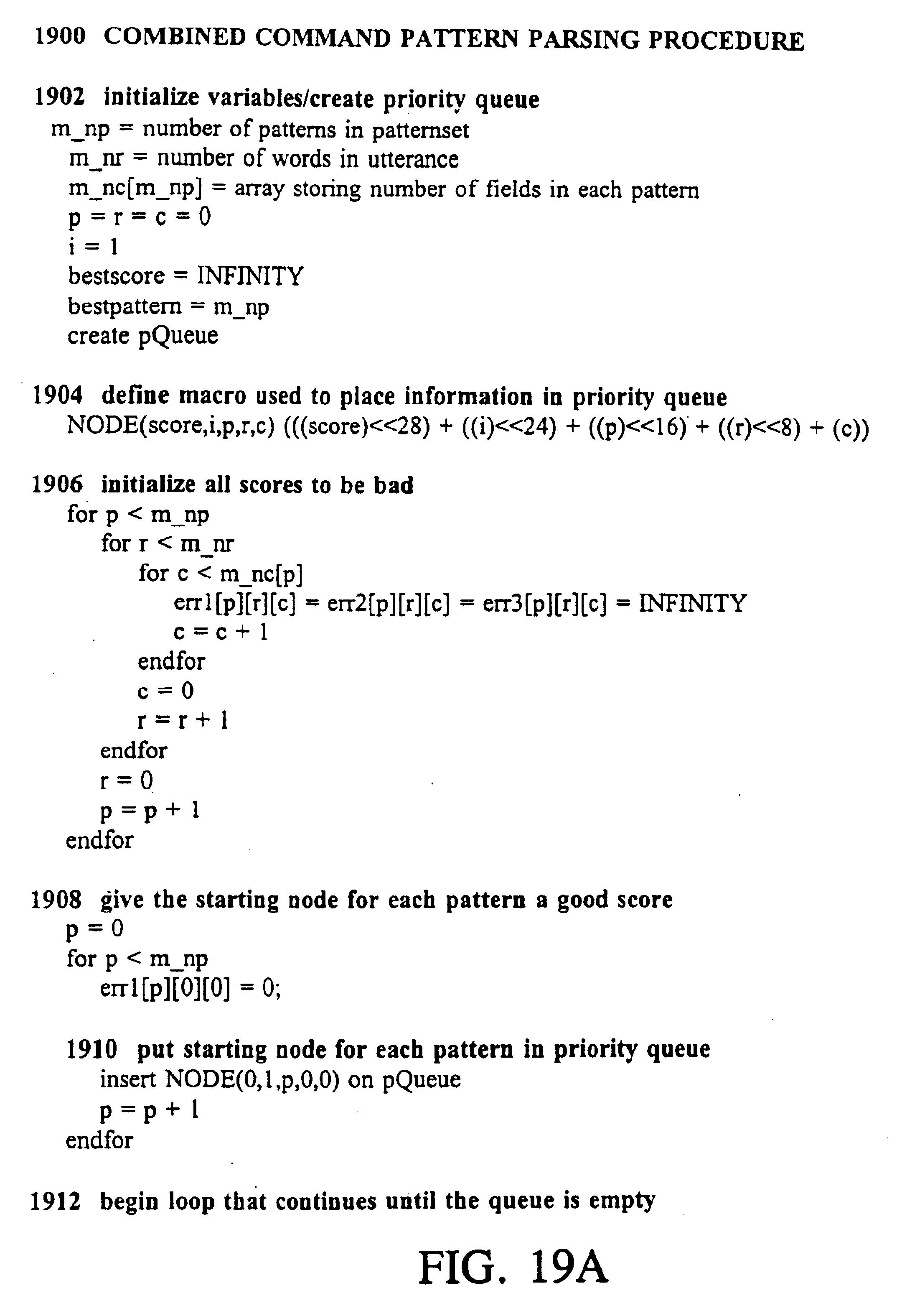 Patent US 6,839,669 B1