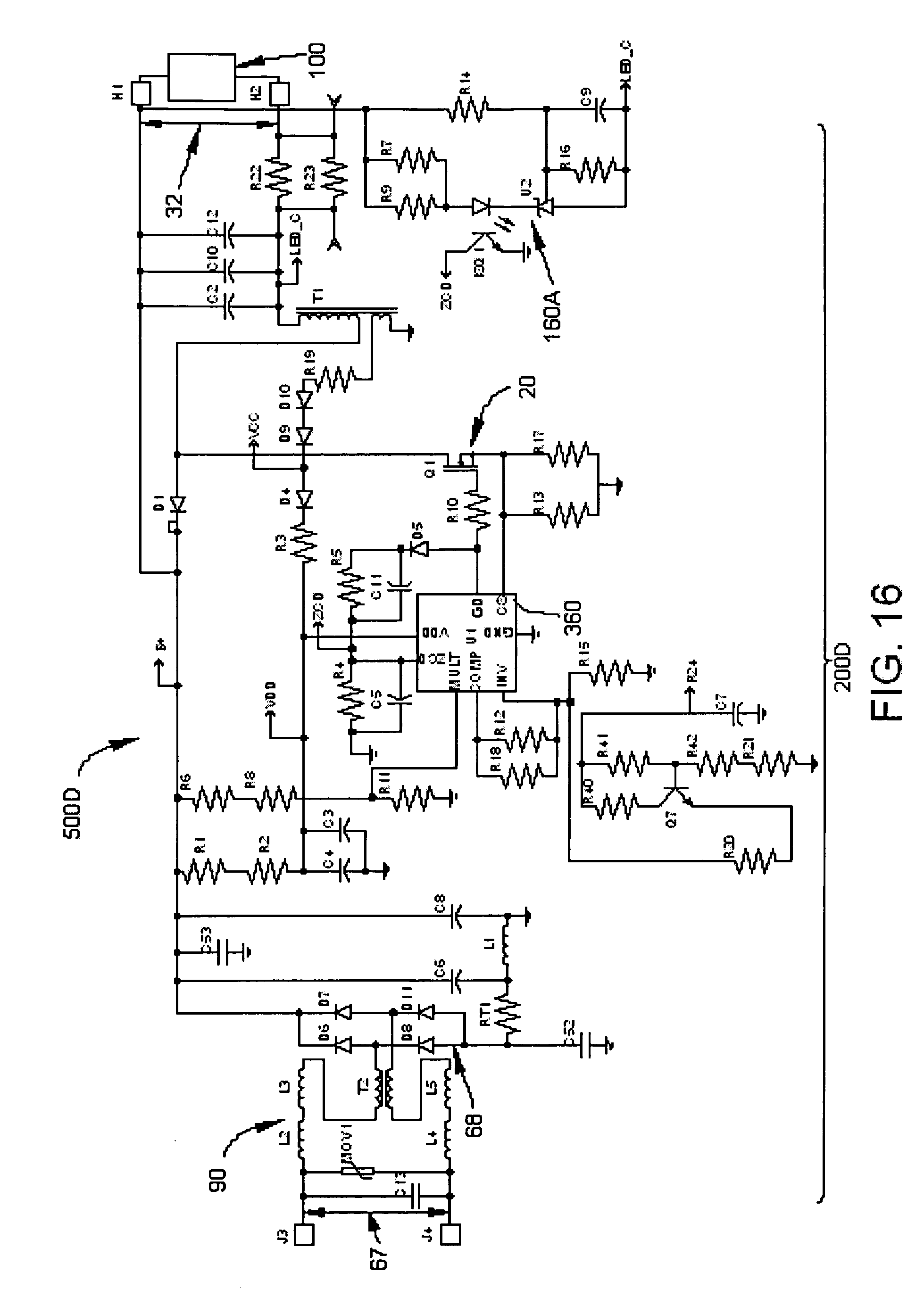 Patent Us 20080278092a1 Adjustable 0100v 50 Amp Smps Circuit Electronic Projects 0 Petitions