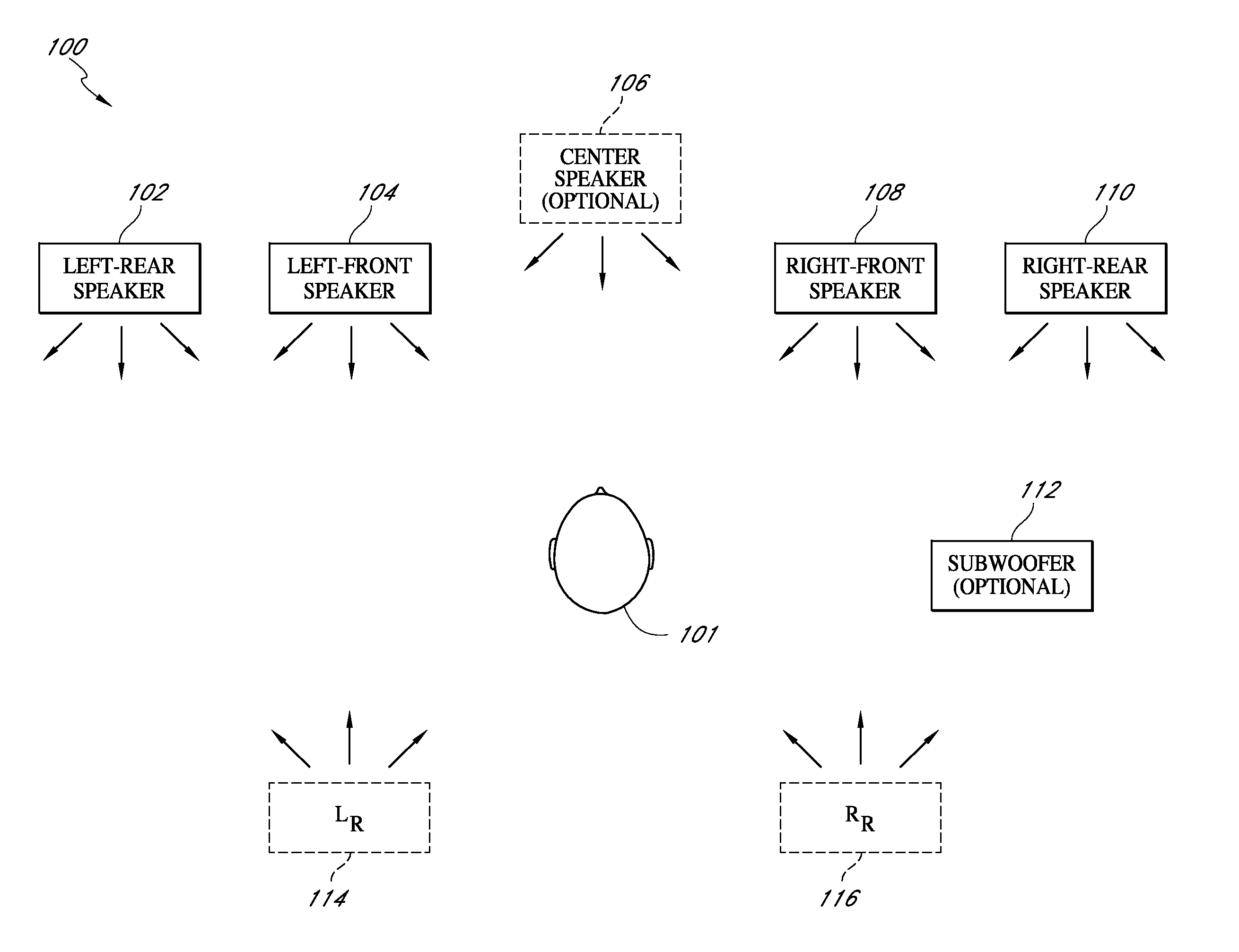 Patent Us 9232312 B2 Yamaha Wiring Diagram Bose 901 To Powered Mixer First Claim