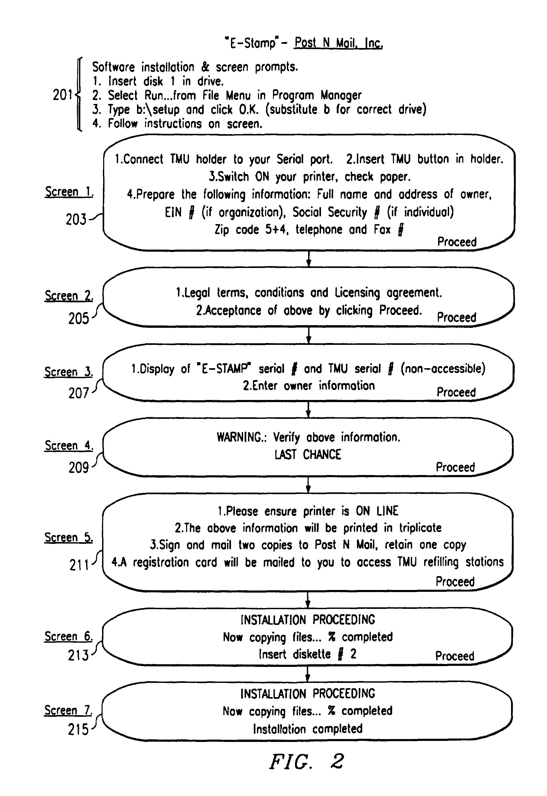 Patent US 7,711,650 B1