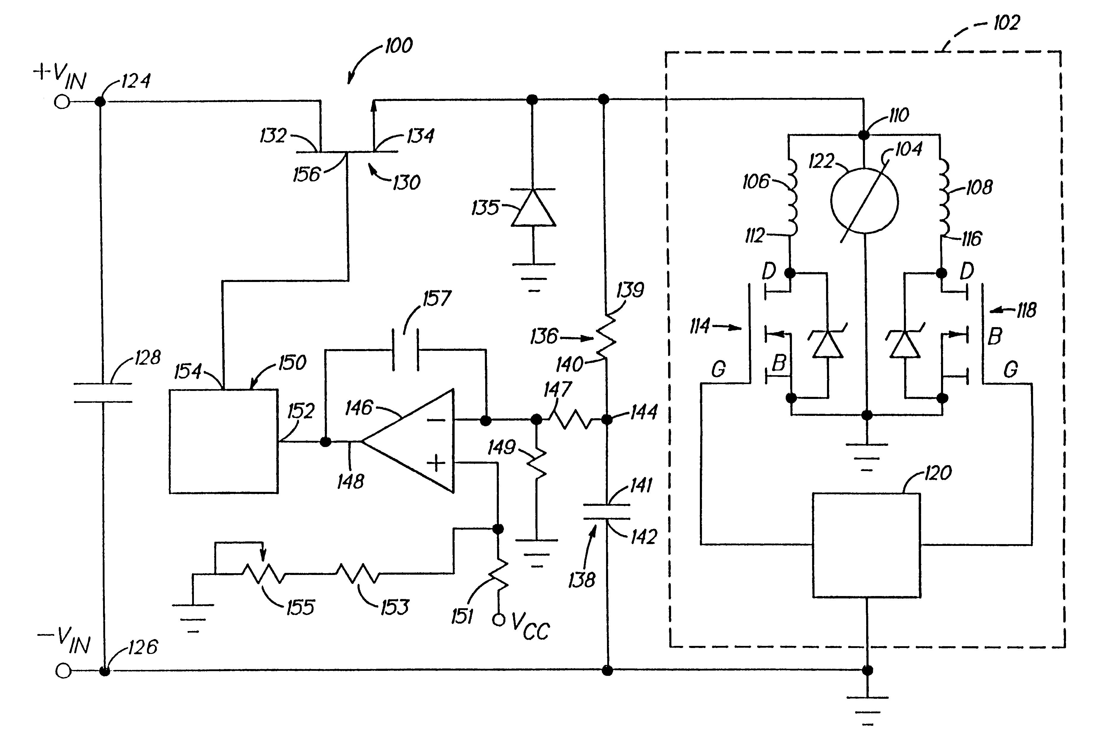 Brushless Motor Circuit