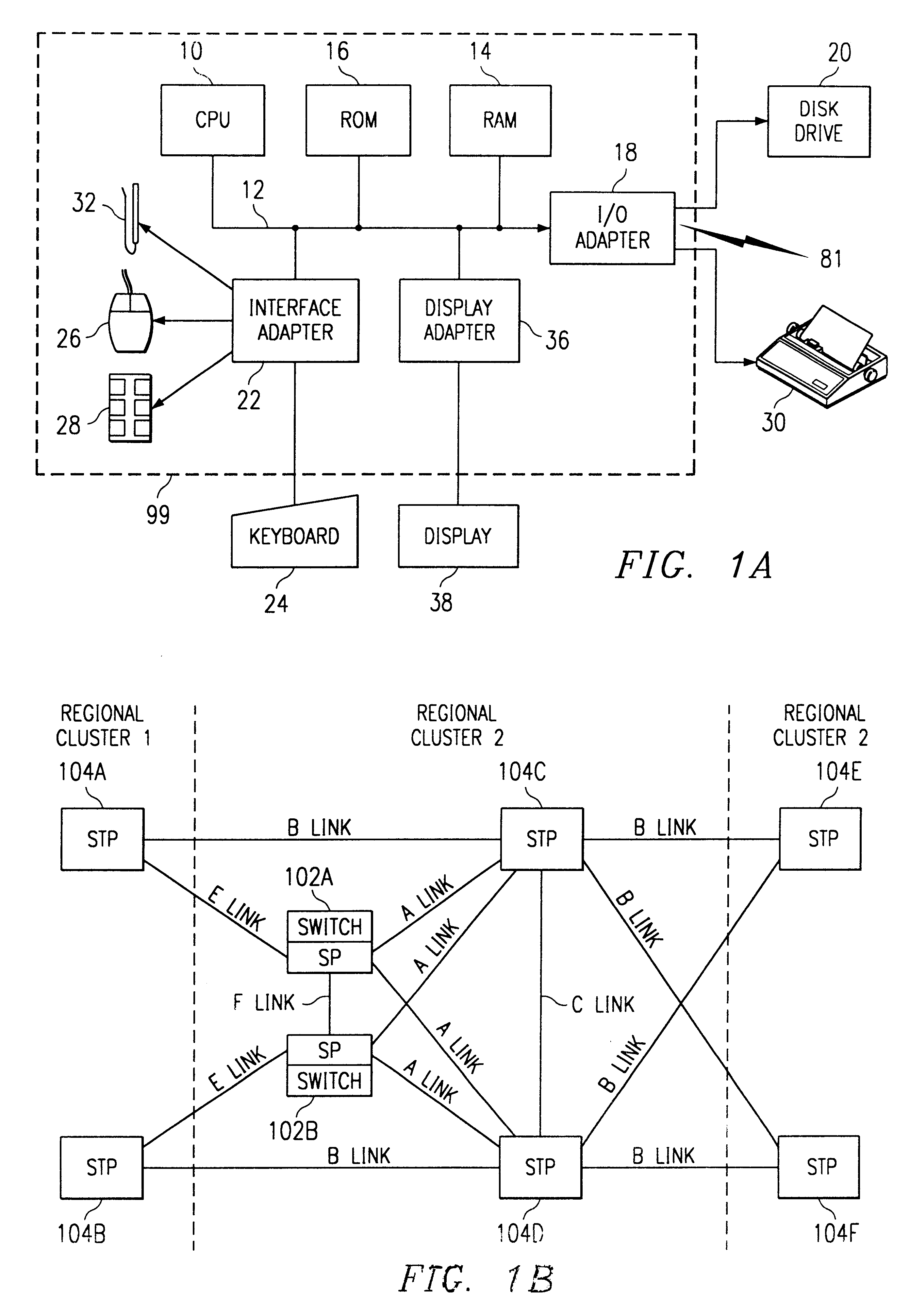 Patent Us 6335927 B1 Fig 42 Block Diagram Simplified Of The Tdm System Architecture