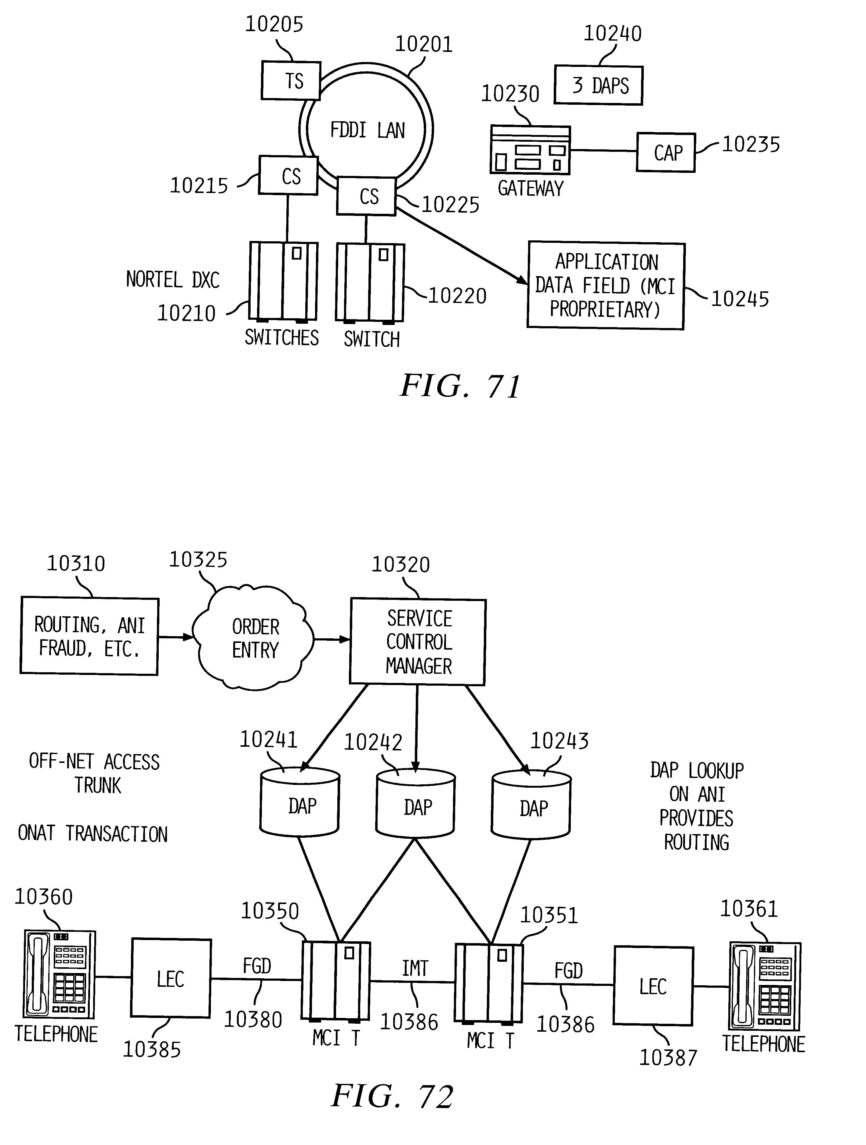 Patent US 6,335,927 B1 on