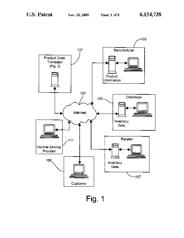 Patent US 6,154,738 A