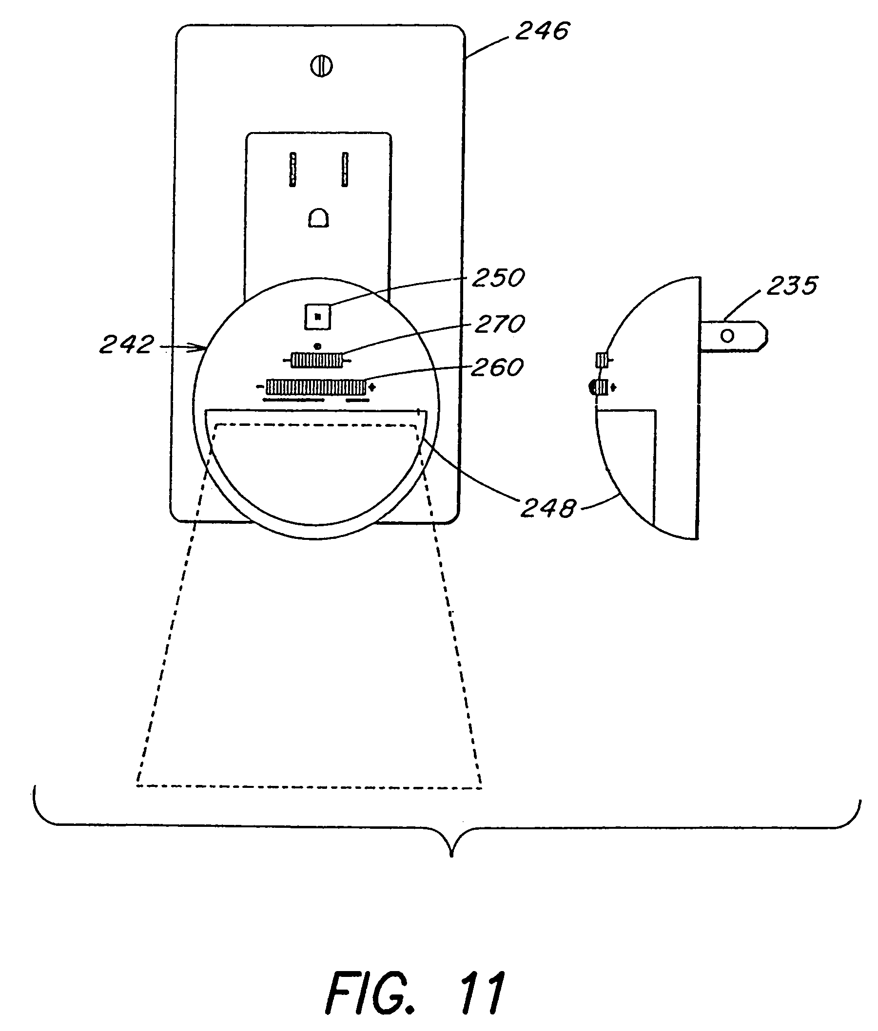 Patent Us 7161313 B2 Schematic For A Complete Led Pumpkin Candle With Numerous Parallel