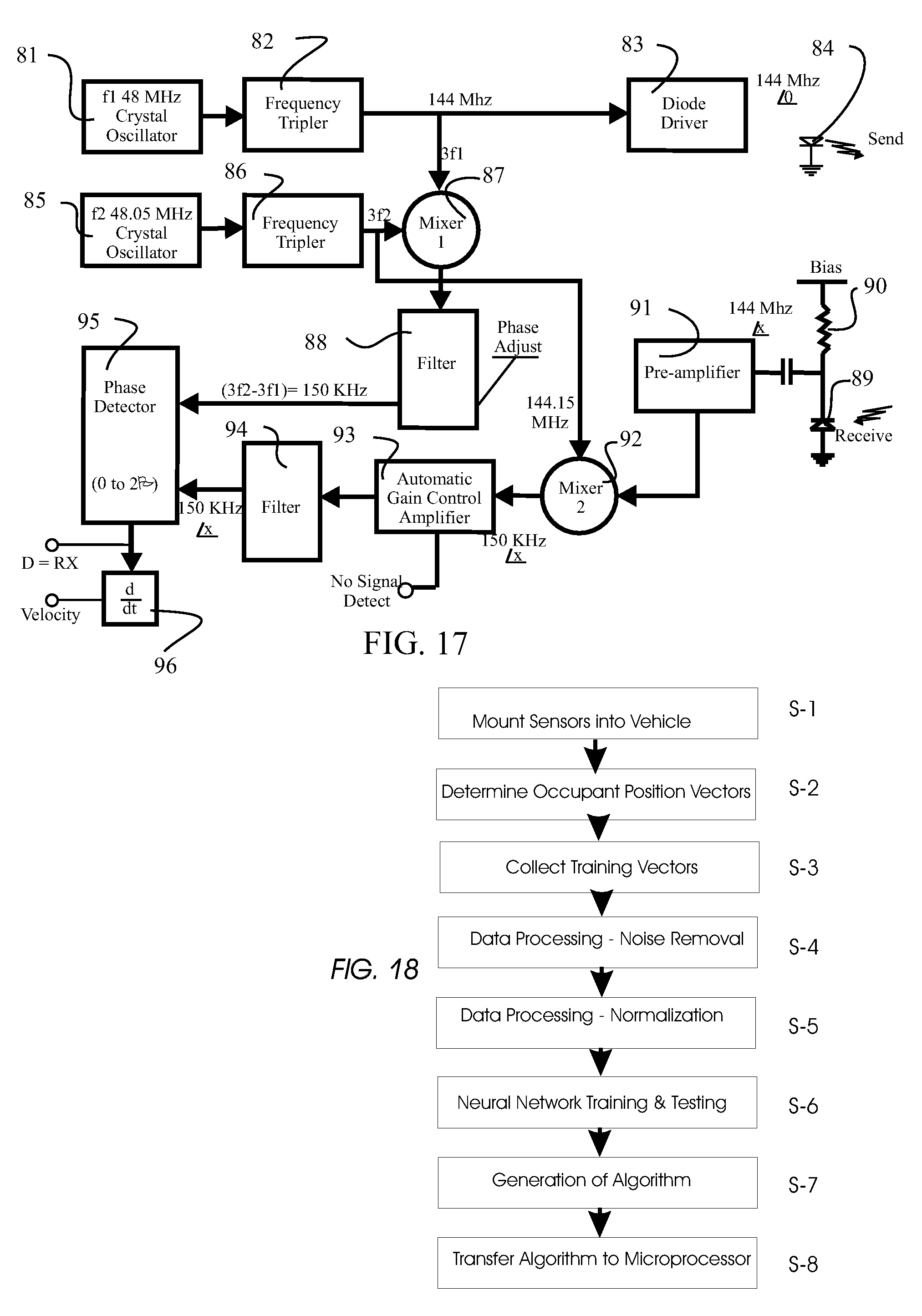 Patent Us 7660437 B2 Schematic Of 36 Khz To 40 Oscillator And Infrared Emitter