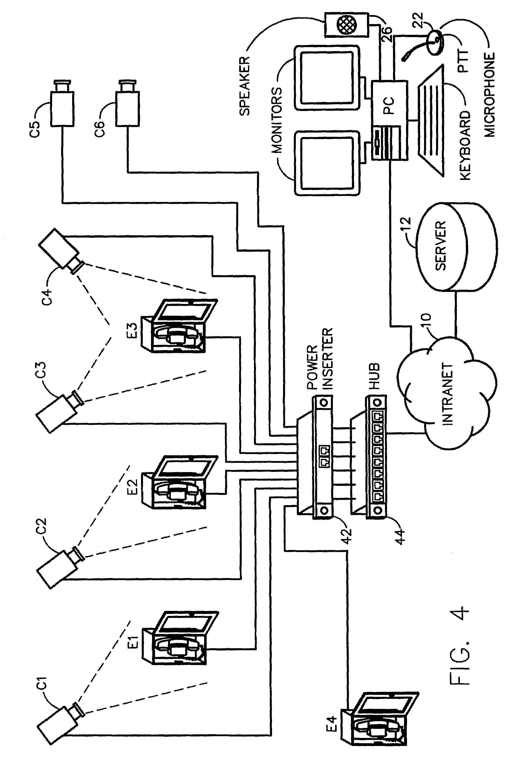 Patent Us 7428002 B2 Fig 42 Block Diagram Simplified Of The Tdm System Architecture