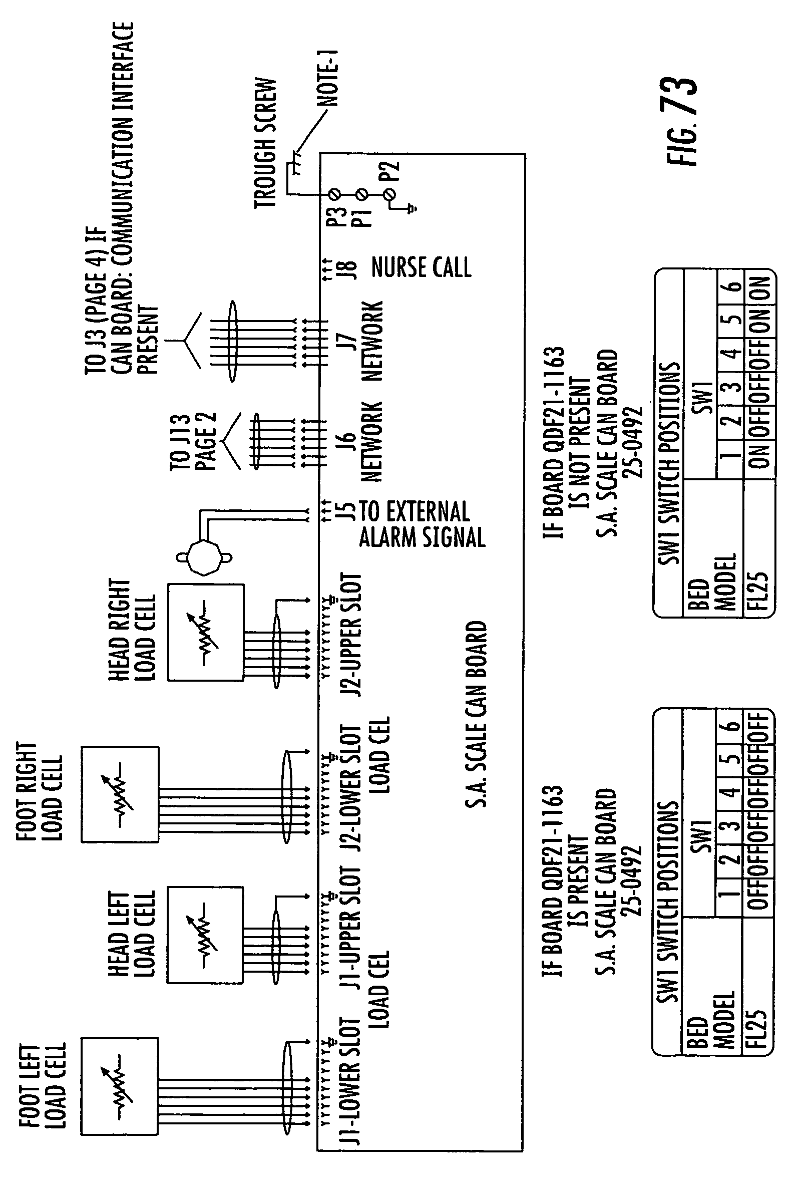 Patent Us 7962981 B2 Hospital Bed Remote Control Wiring Diagrams
