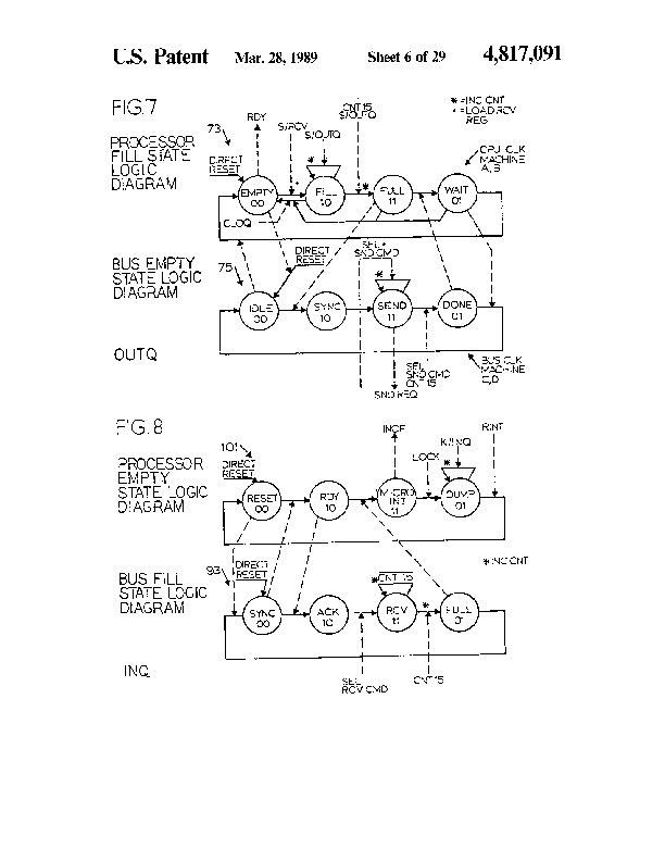 Patent Us 4817091 A