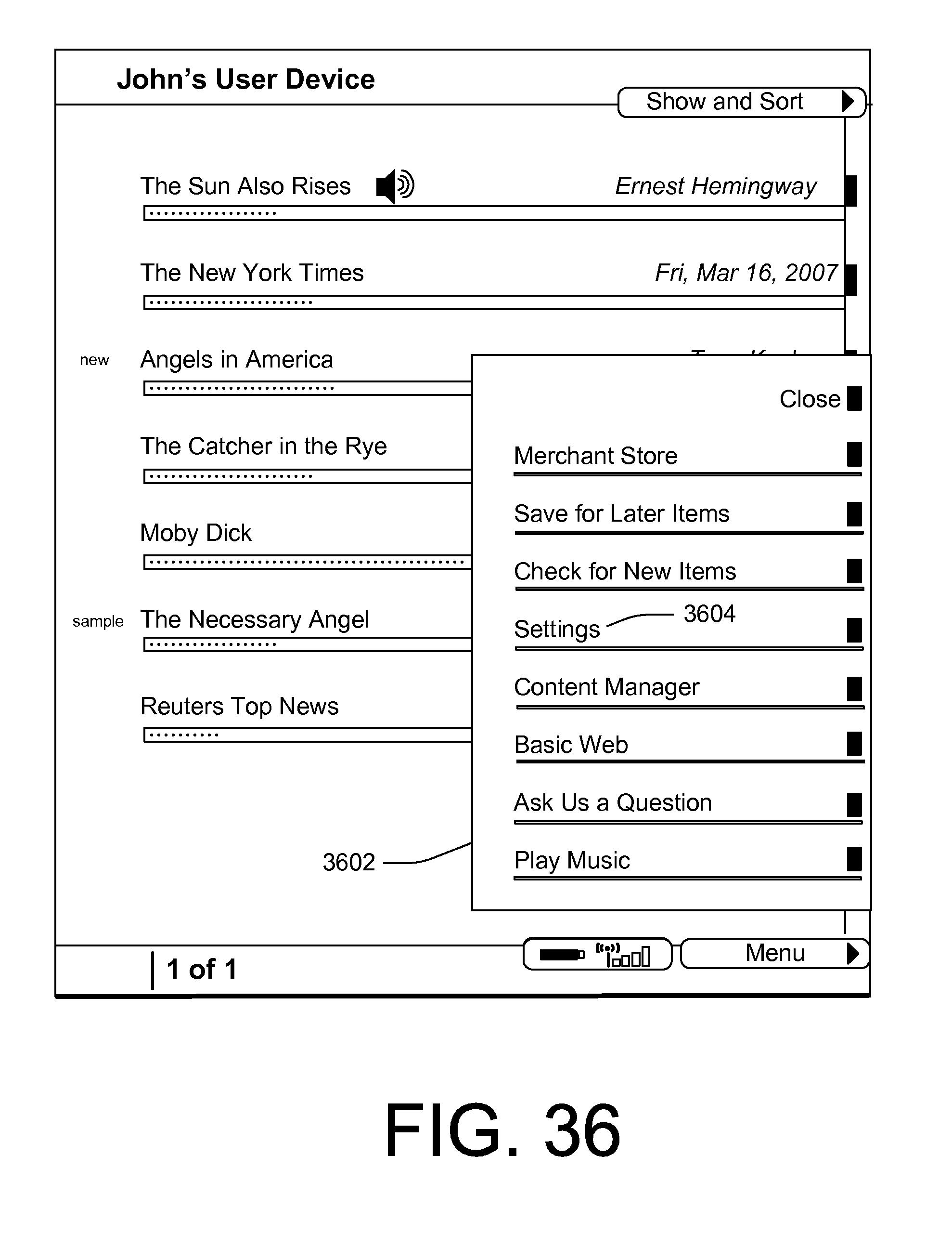 Patent US 9,888,005 B1