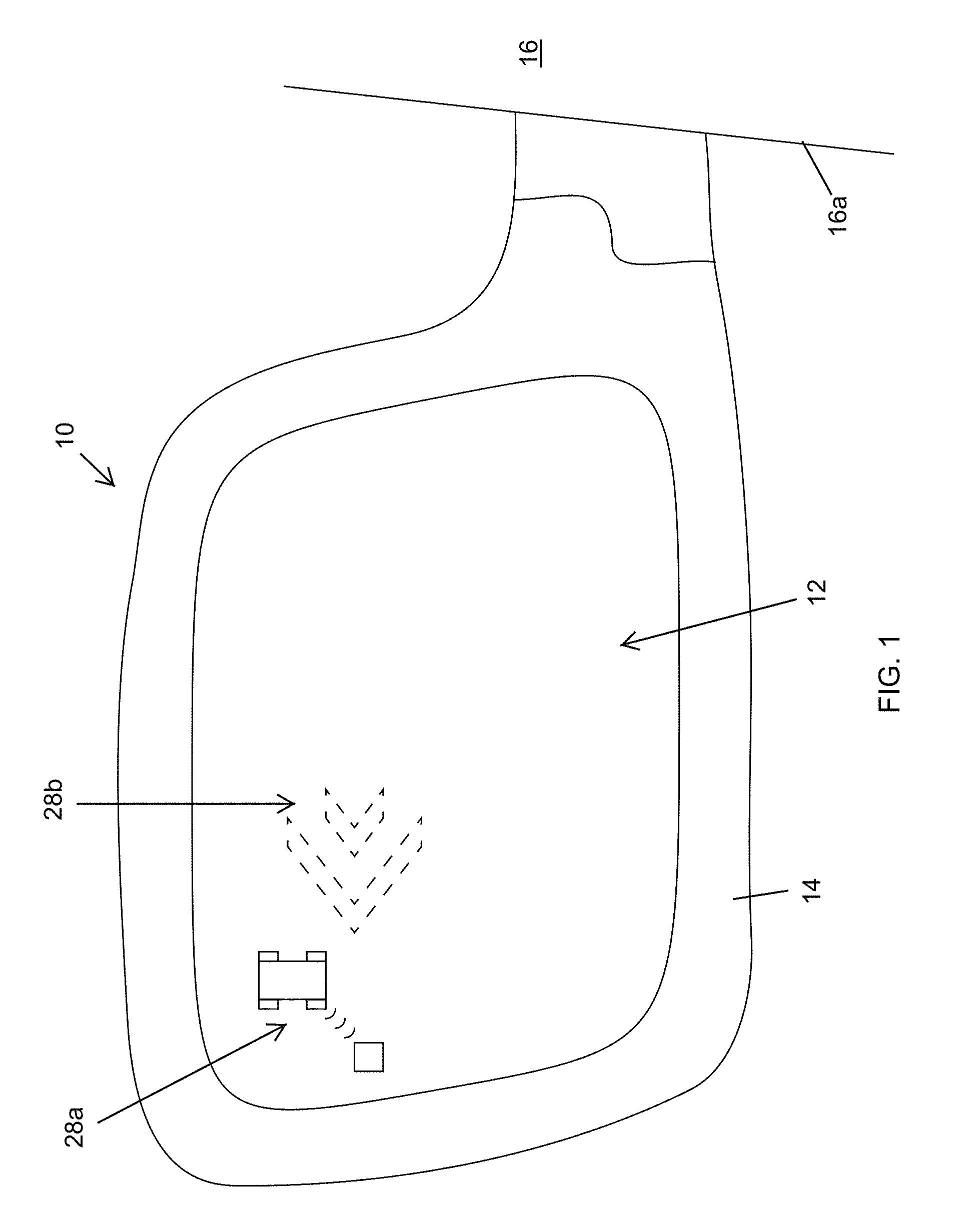 Patent Us 9758102 B1 Photodiode Alarm Circuit Laser Door Shadow Images