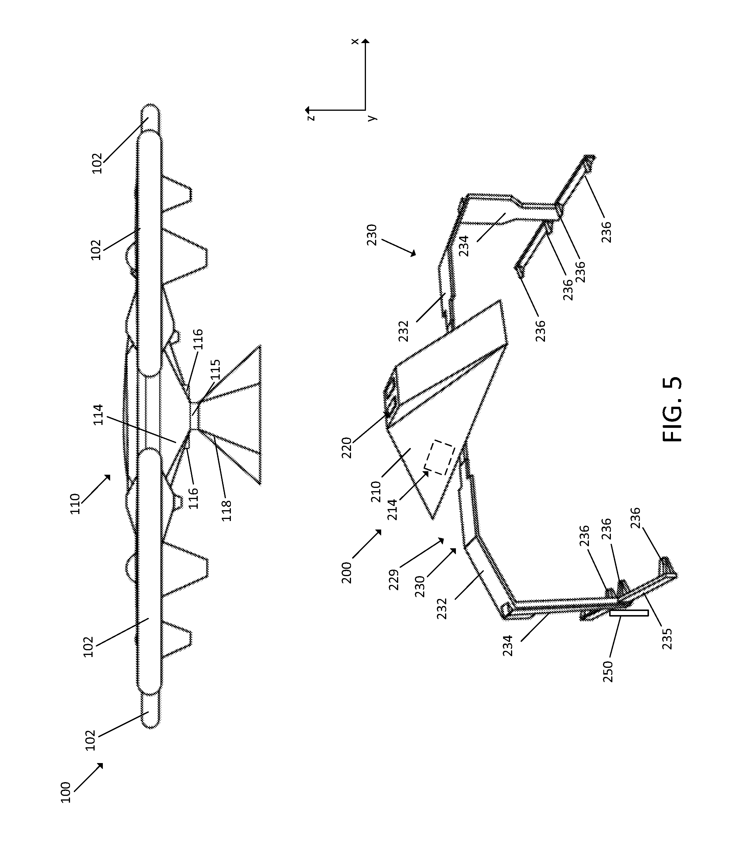 patent us 9 981 745 b2 97 Chevy Truck Wiring Diagram patent