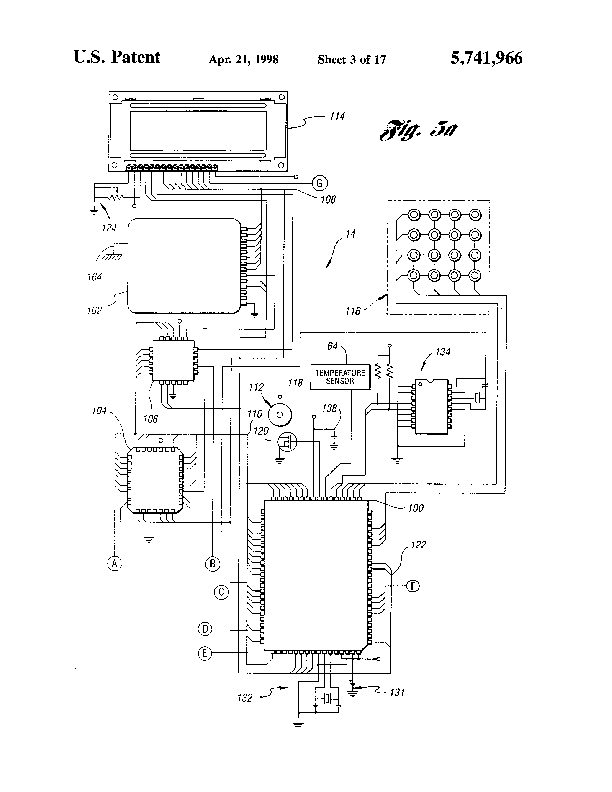 Patent US 5,741,966 A on