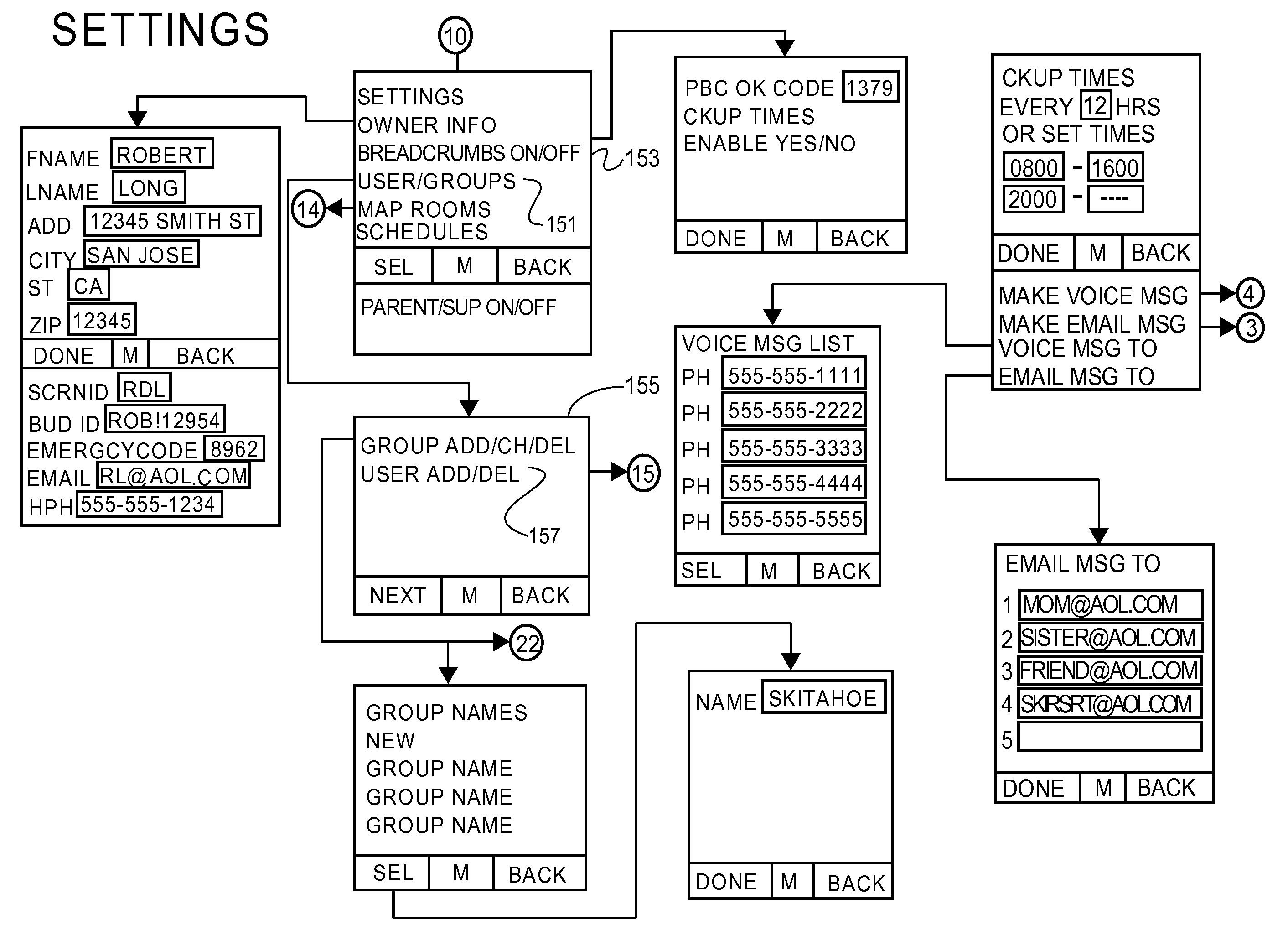 Patent Us 9167558 B2 Msg 3 Logic Diagram First Claim