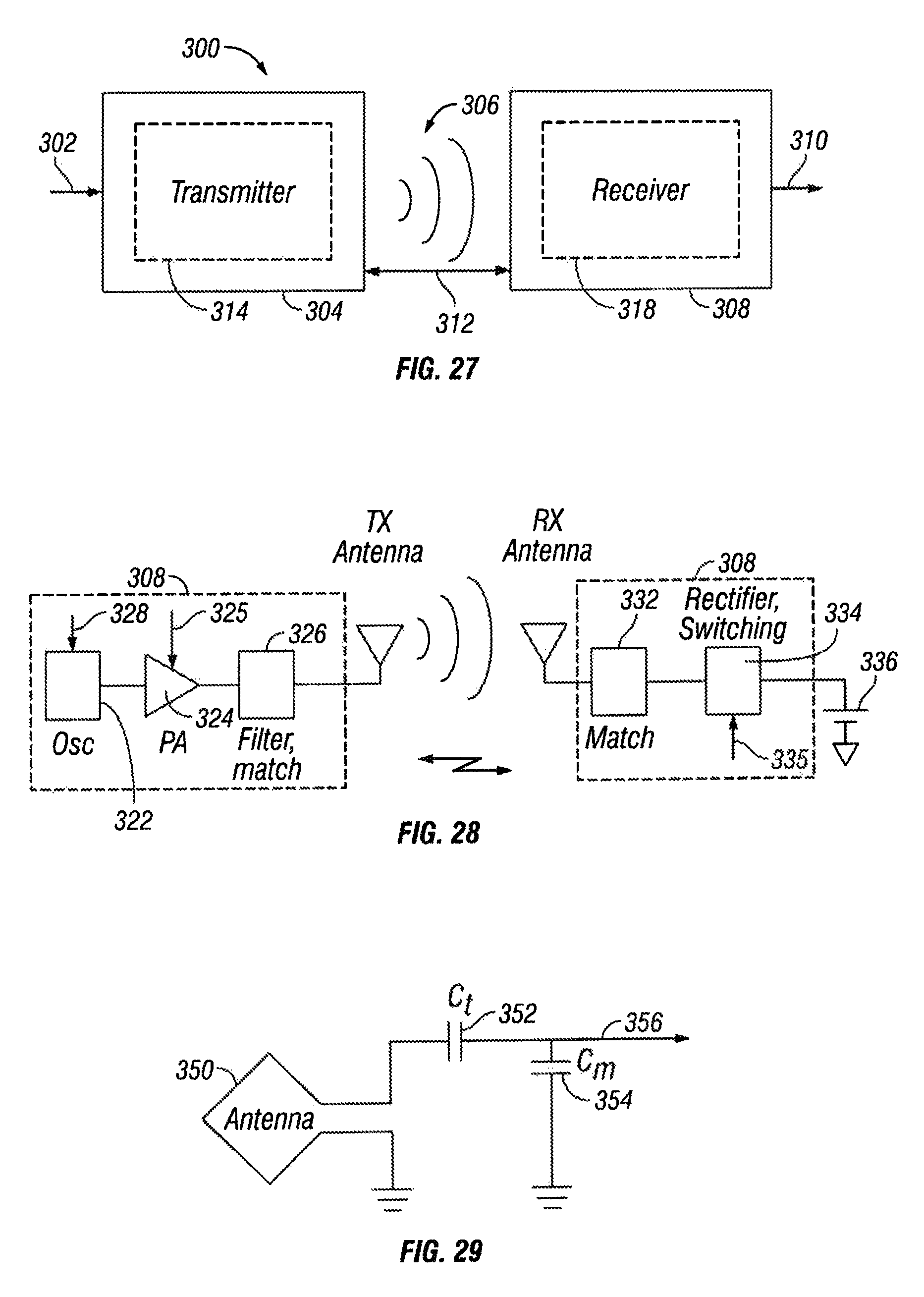 Patent Us 9406220 B2 Passive Band Stop Filter Public Circuit Online Simulator Images