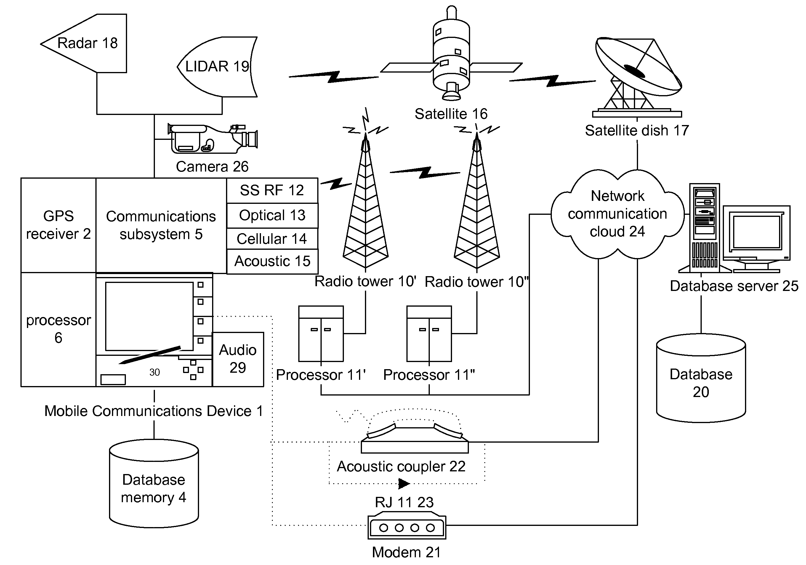 Patent US 20070087756A1